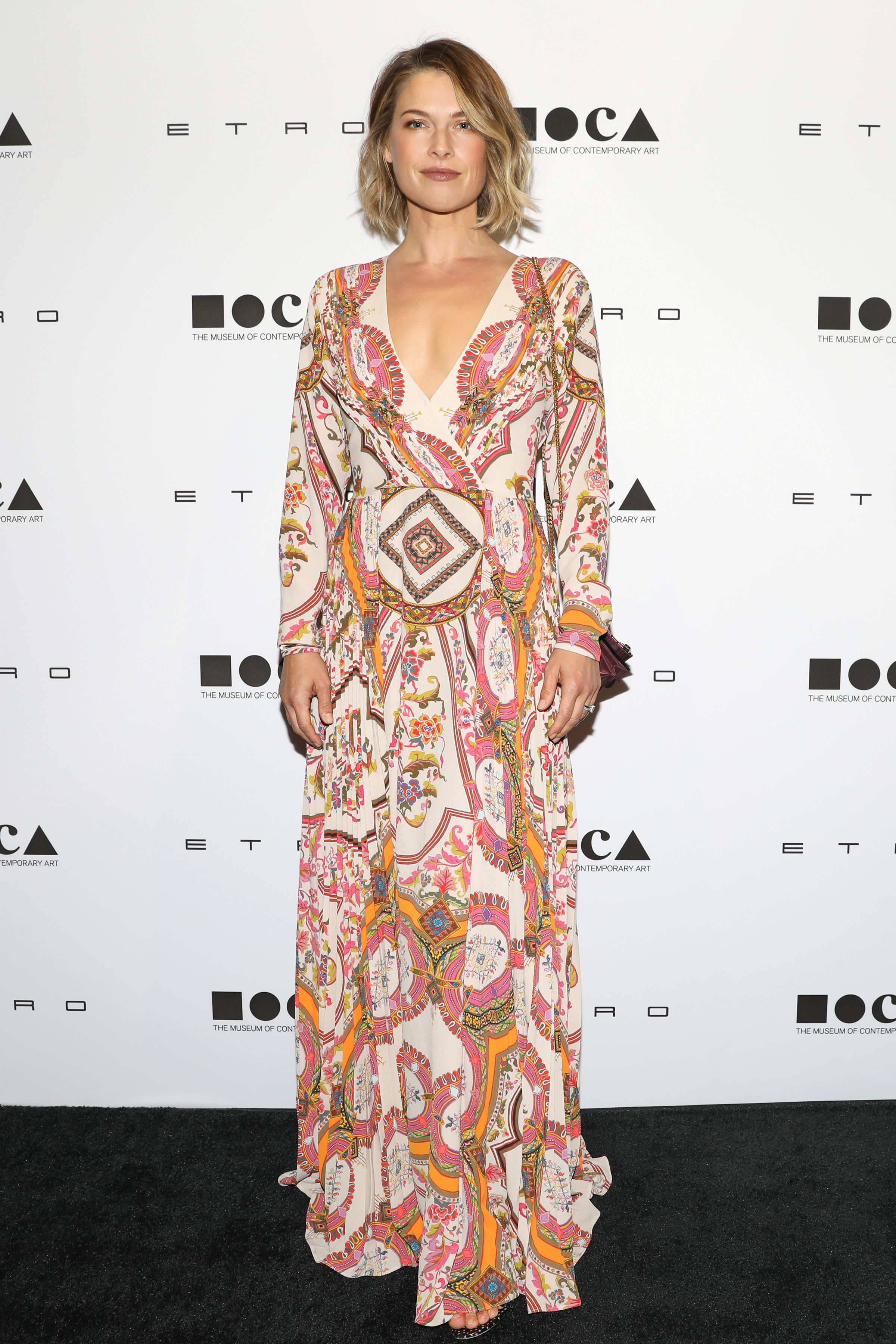 Ali Larter attends the 10th MOCA Distinguished Women in the Arts luncheon in Los Angeles on Nov. 1, 2017.