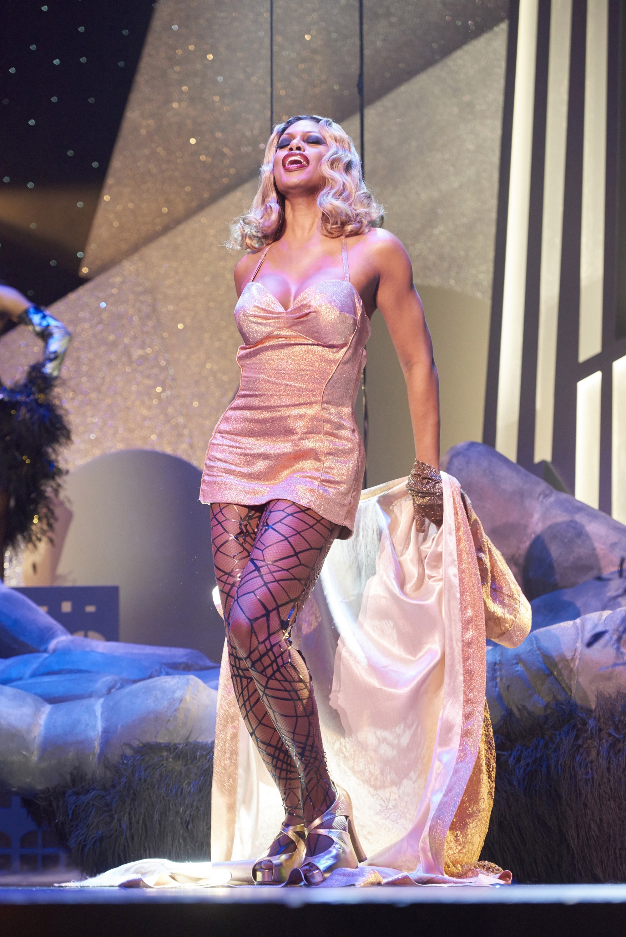 """Laverne Cox stars in """"The Rocky Horror Picture Show: Let's Do the Time Warp Again"""" in 2016."""