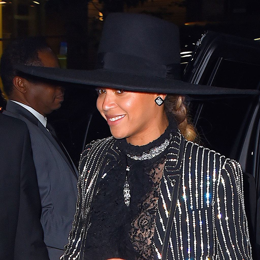 Beyonce auctions off her iconic black hat for a good cause