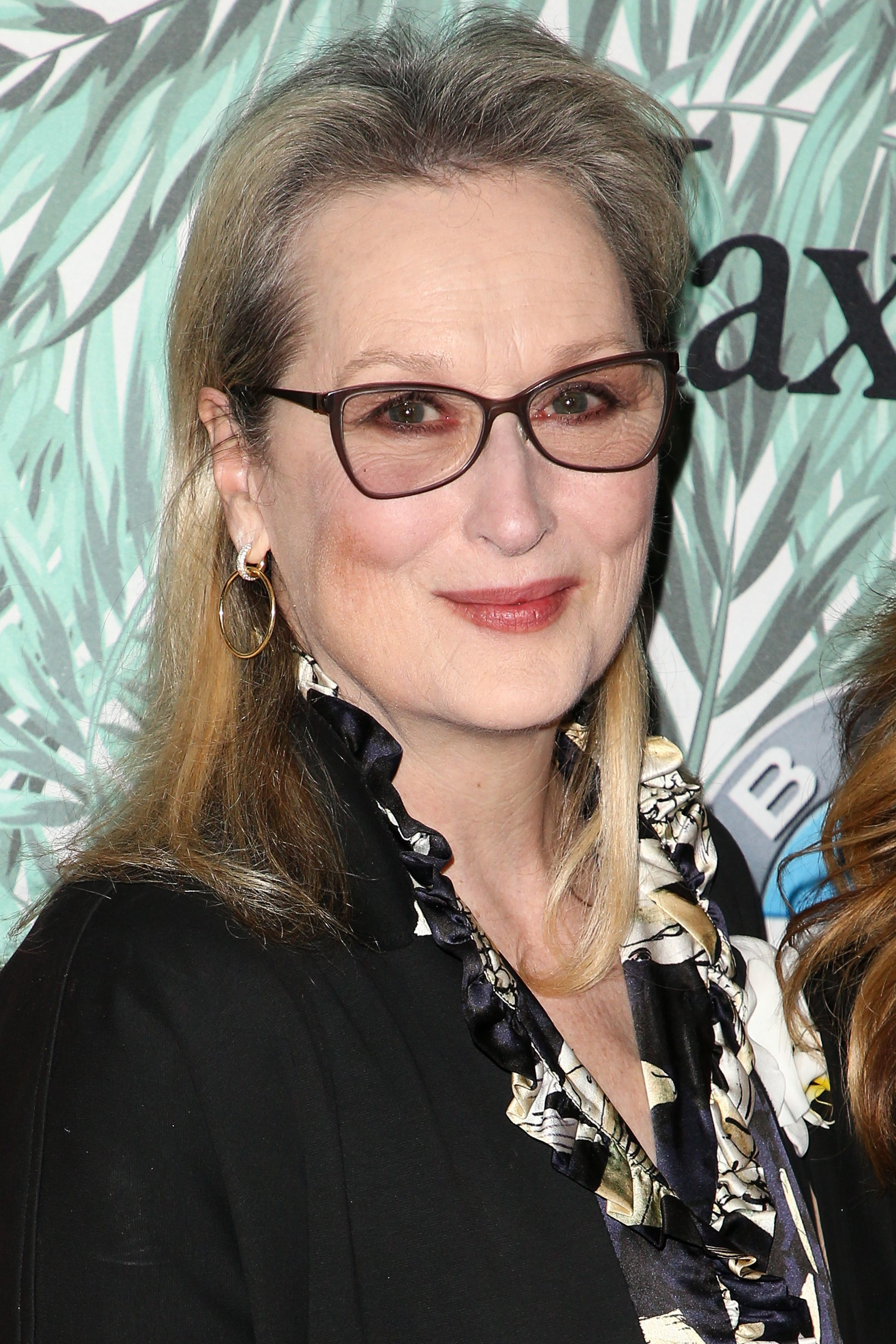 Meryl Streep arrives at the Women in Film cocktail party in Los Angeles on Feb. 24, 2017.