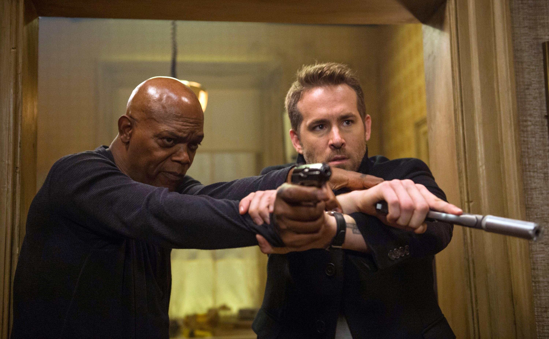 "Ryan Reynolds and Samuel L. Jackson star in ""The Hitman's Bodyguard"" in 2017."
