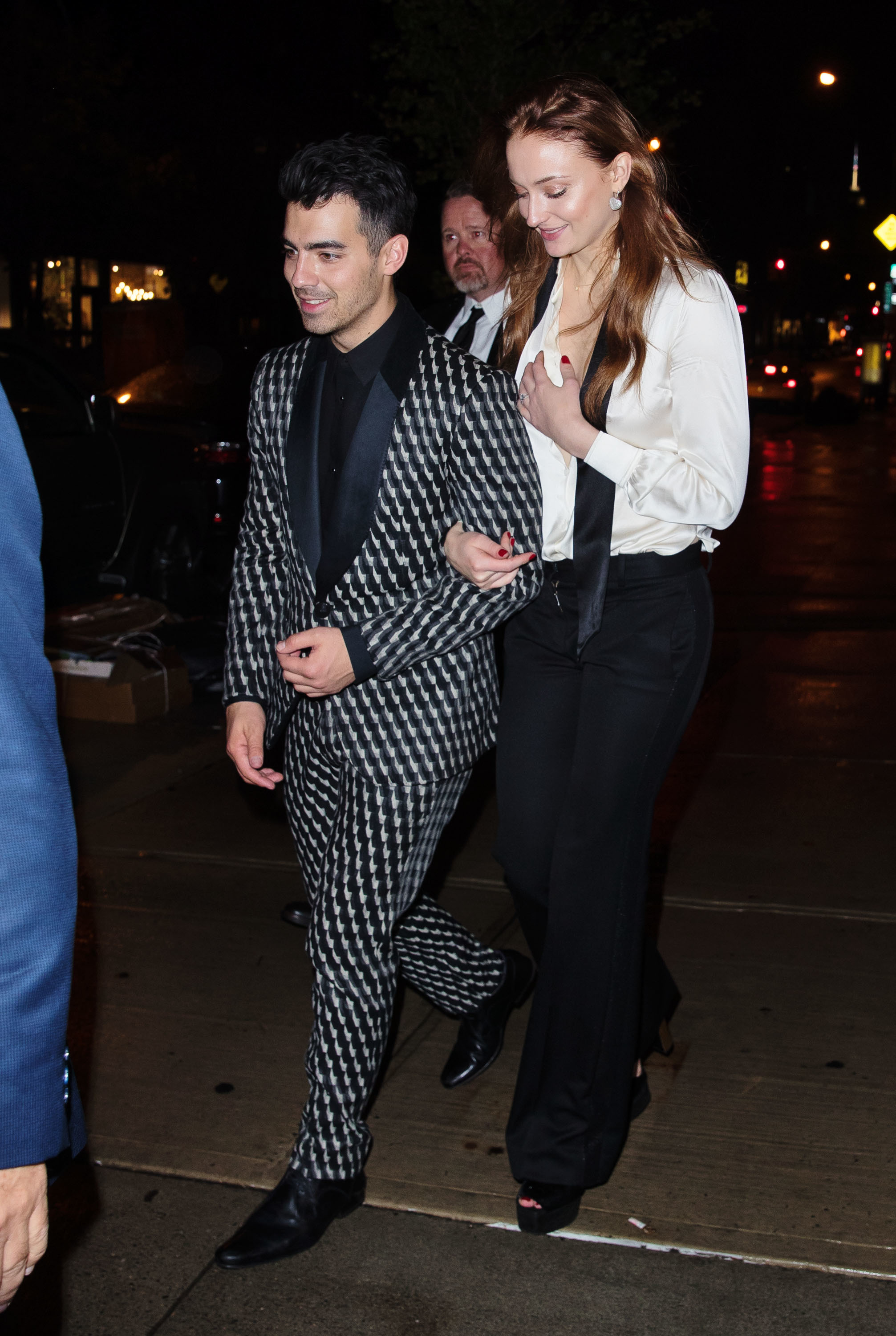 Joe Jonas and Sophie Turner celebrate their engagement
