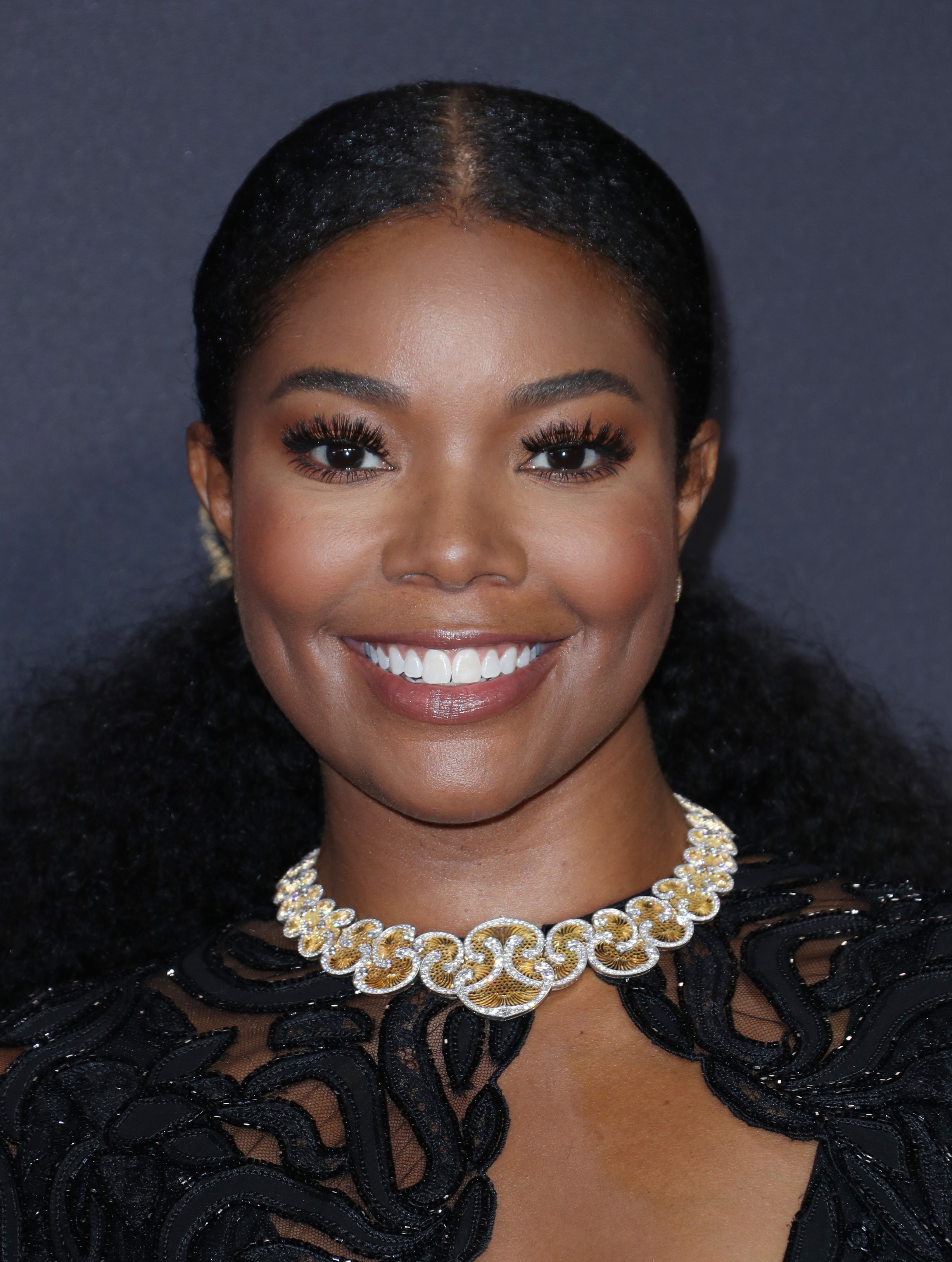 Gabrielle Union attends the 69th Primetime Emmy Awards in Los Angeles on Sept. 17, 2017.