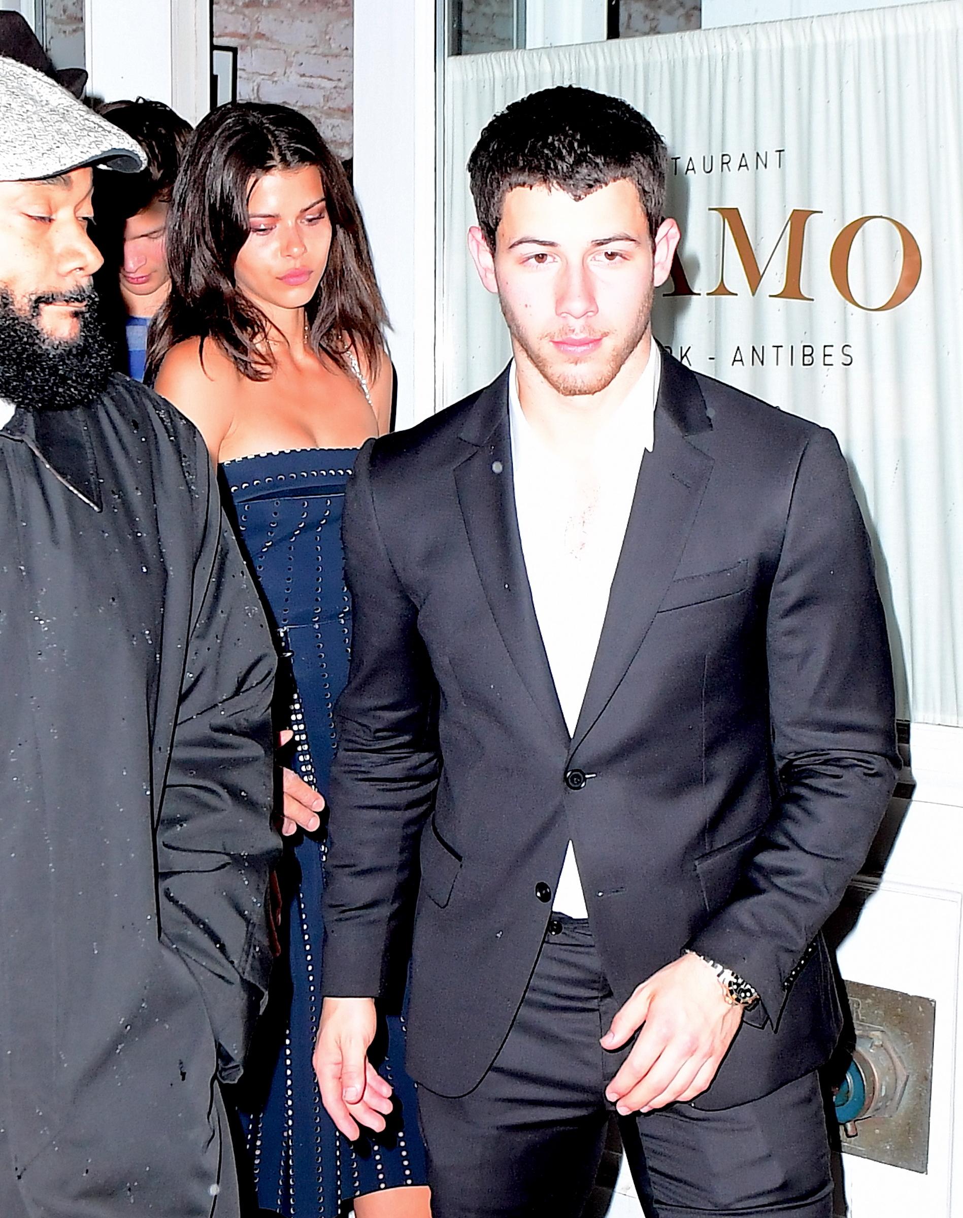 Nick Jonas and Georgia Fowler - New celebrity couples of