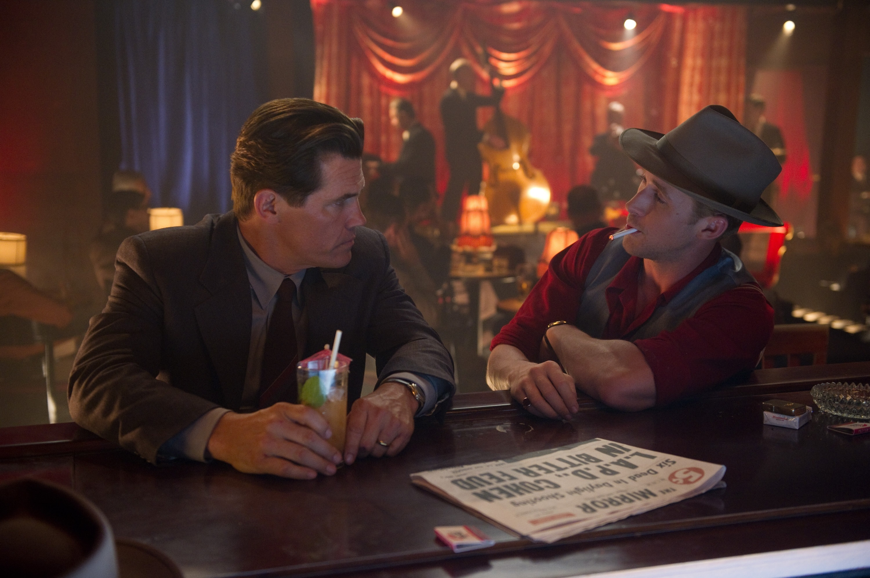 "No. 7: Sgt. Jerry Wooters in ""Gangster Squad"""