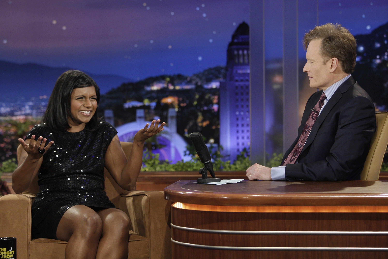 2. She interned for Conan O'Brien