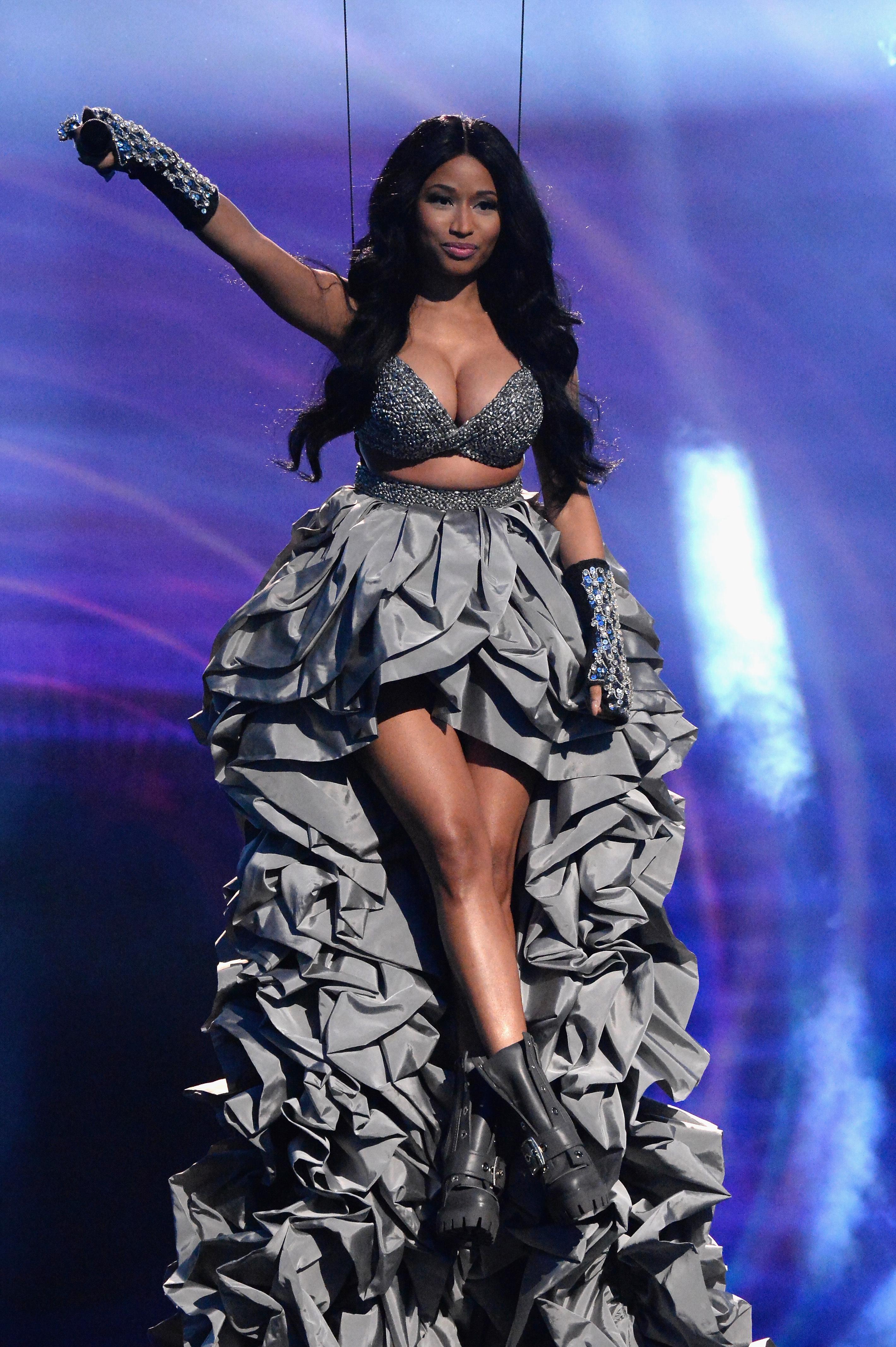Nicki Minaj hosts the MTV Europe Music Awards 2014 at The Hydro in Glasgow, Scotland on November 9, 2014.