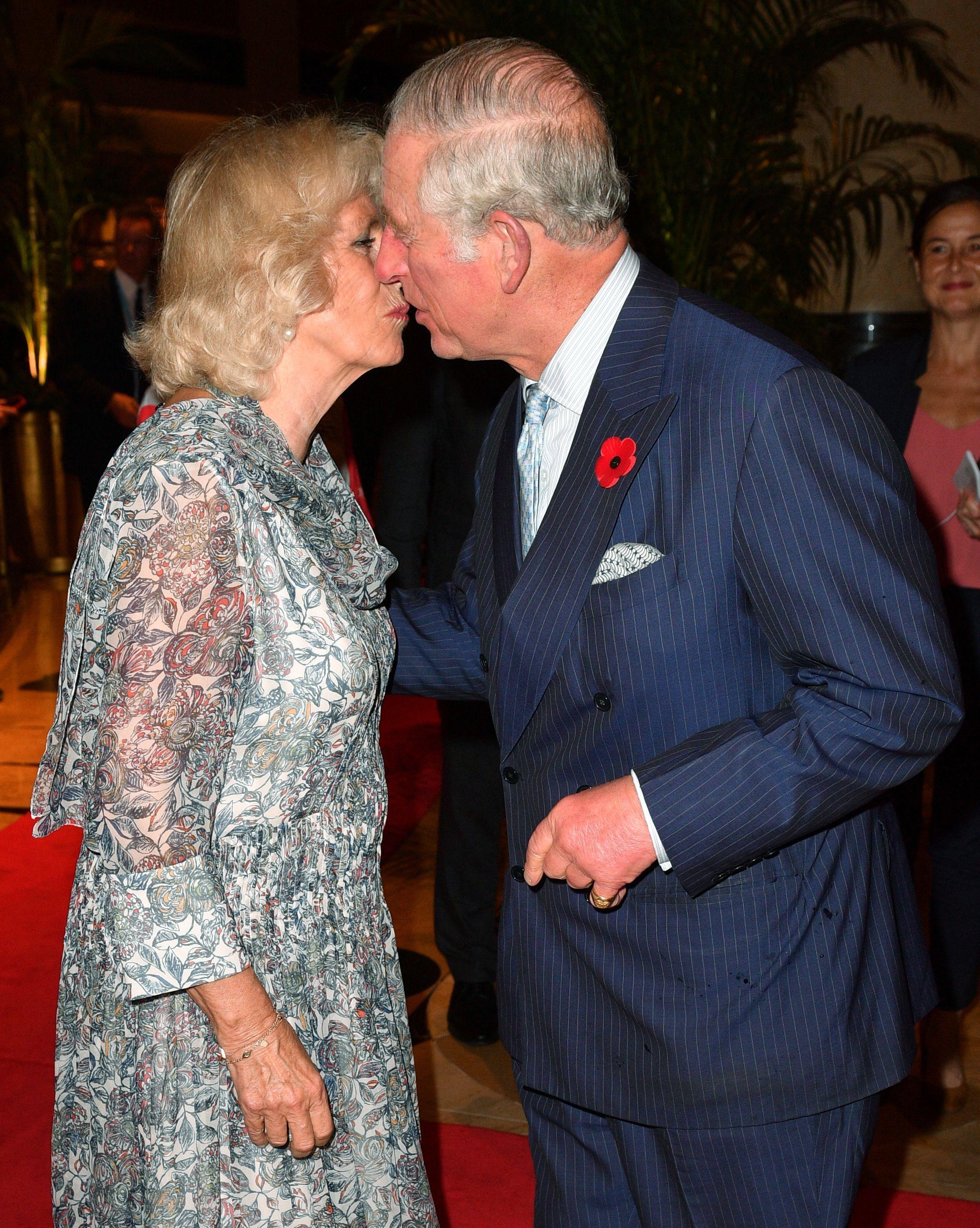 Prince Charles and Camilla, Duchess of Cornwall PDA