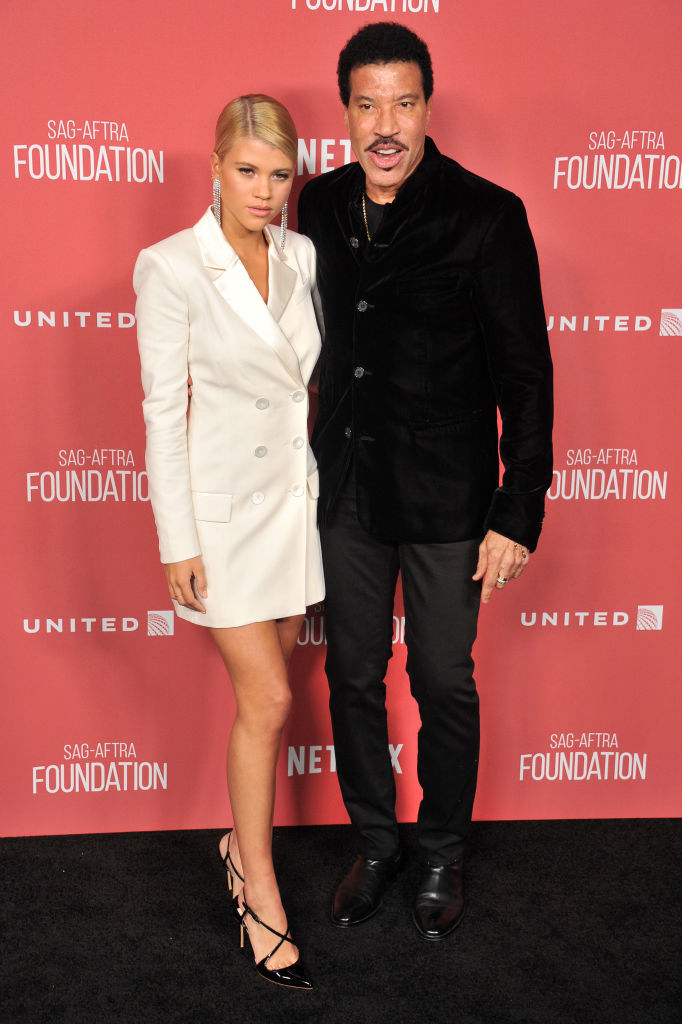 Lionel and Sofia Richie make their first public appearance together in months