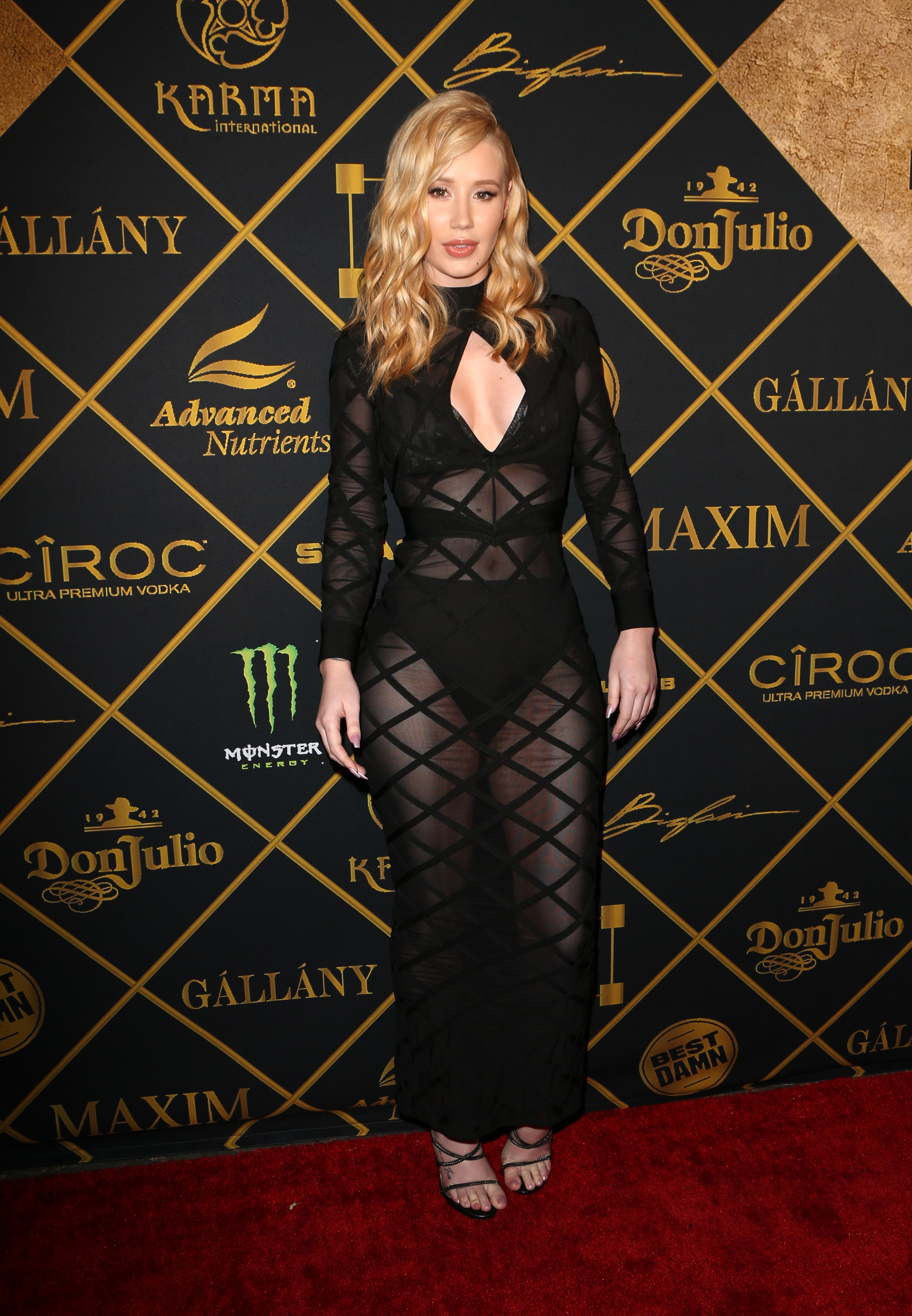 Iggy Azalea attends the Maxim Hot 100 Party in Hollywood on July 30, 2016.