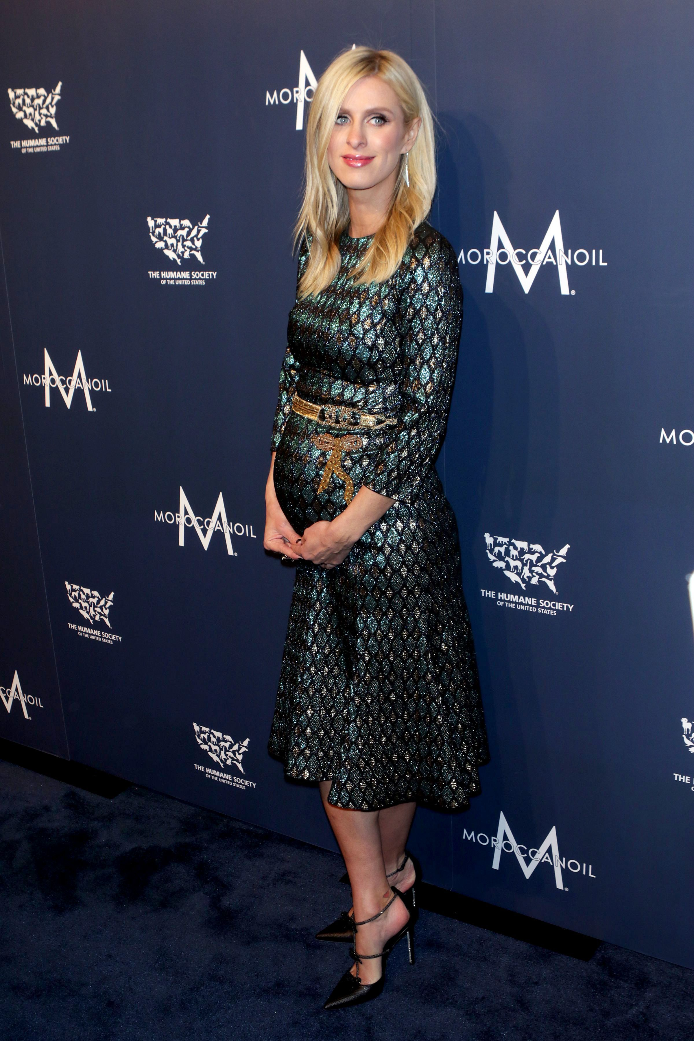 Nicky Hilton attends The Humane Society To the Rescue! Gala in New York on Nov. 10, 2017.