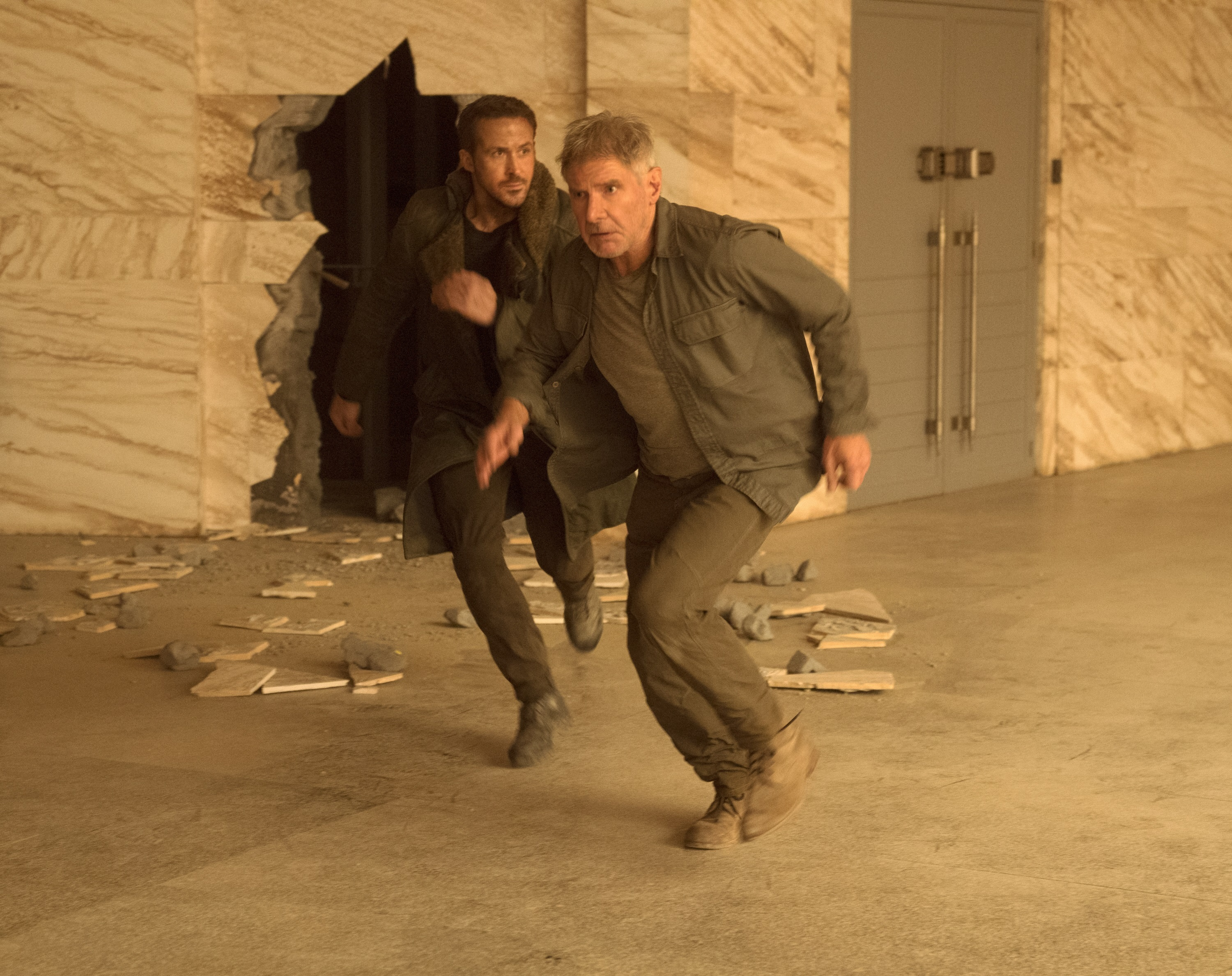 """Ryan Gosling and Harrison Ford star in """"Blade Runner 2049,"""" which premiered in the U.S. on Oct. 6, 2017."""