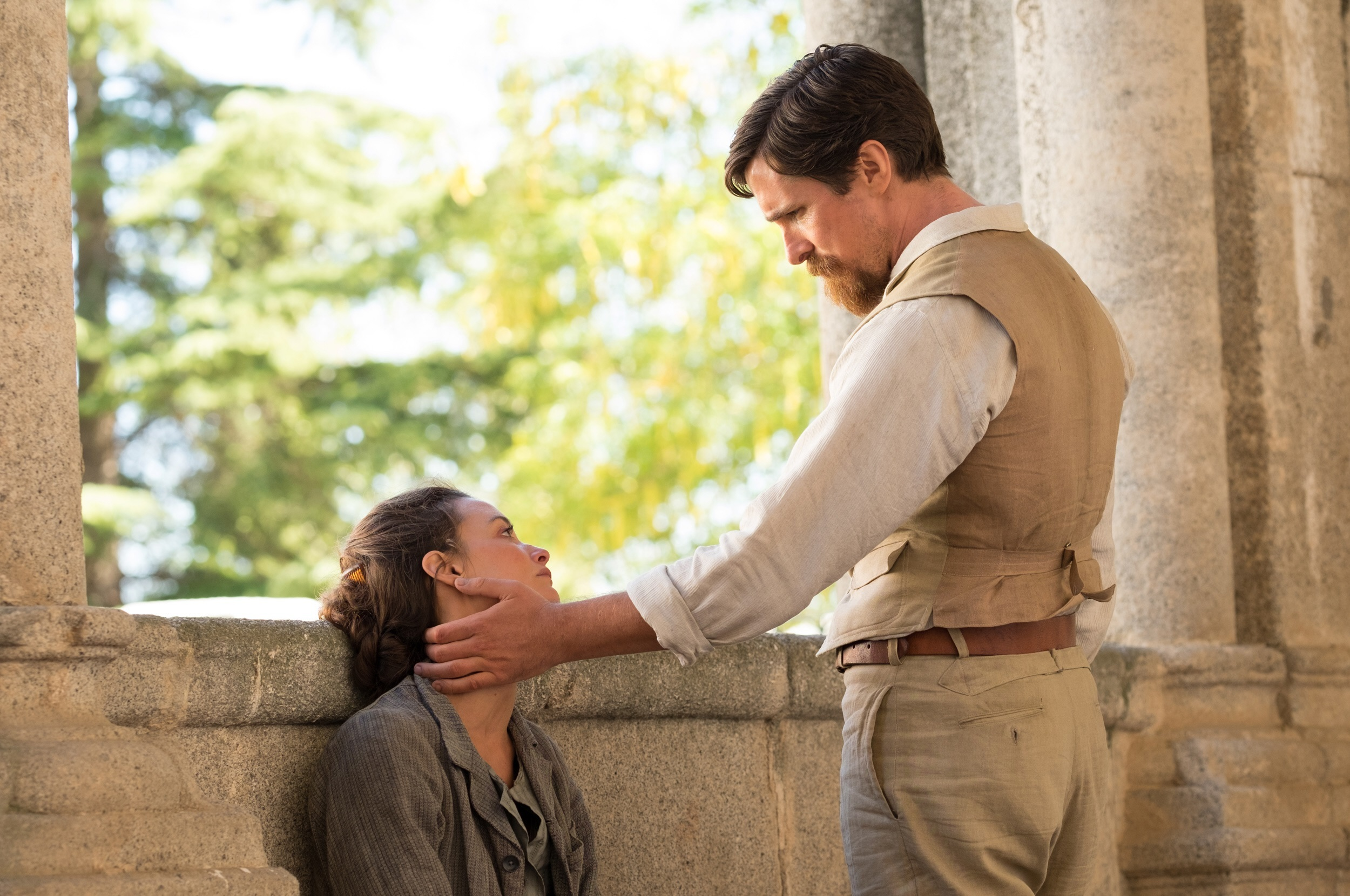 "Charlotte Le Bon and Christian Bale star in ""The Promise,"" which was released in the U.S. on April 21, 2017."