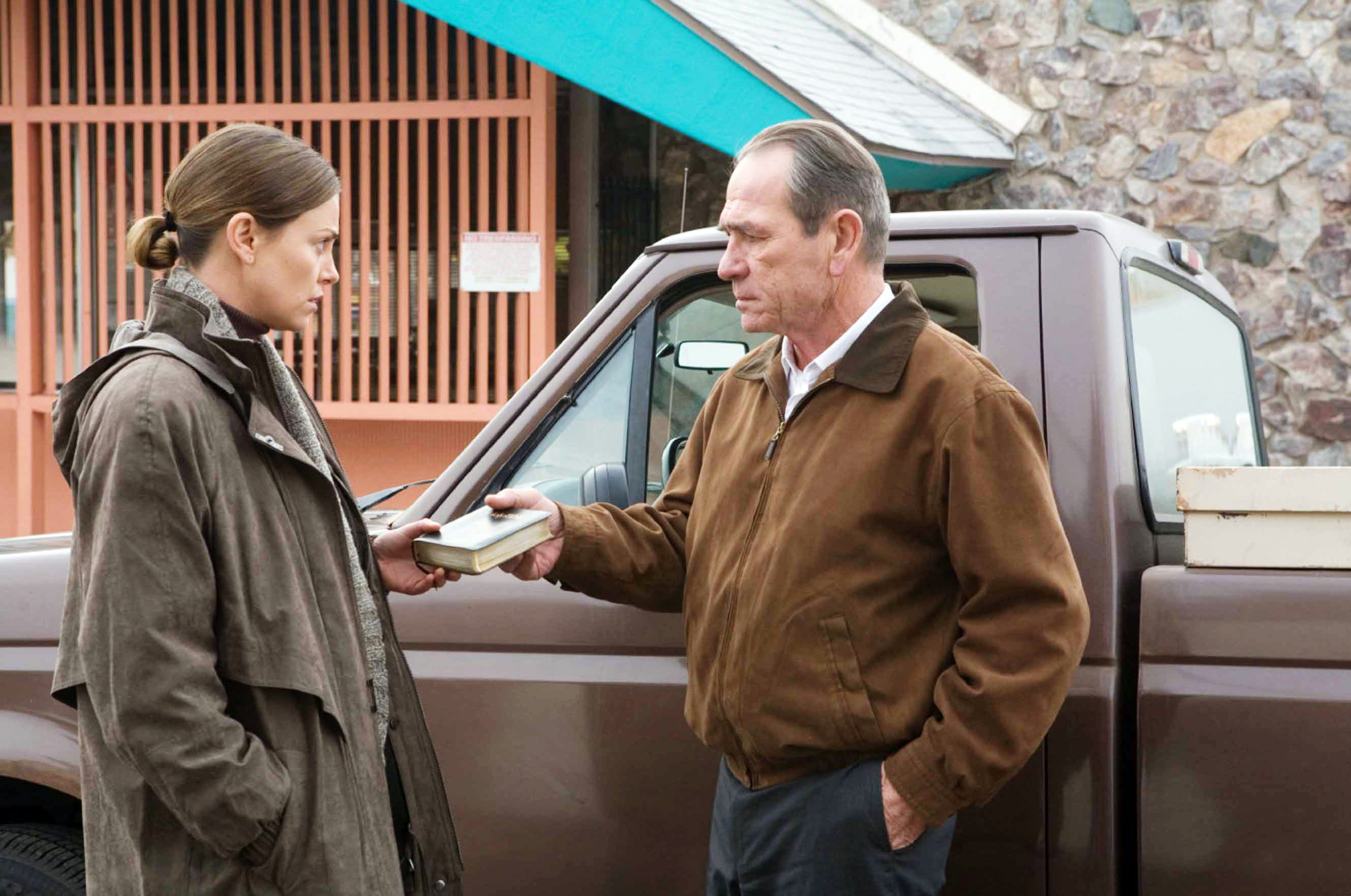"Charlize Theron and Tommy Lee Jones starred in 2007's ""In the Valley of Elah."""