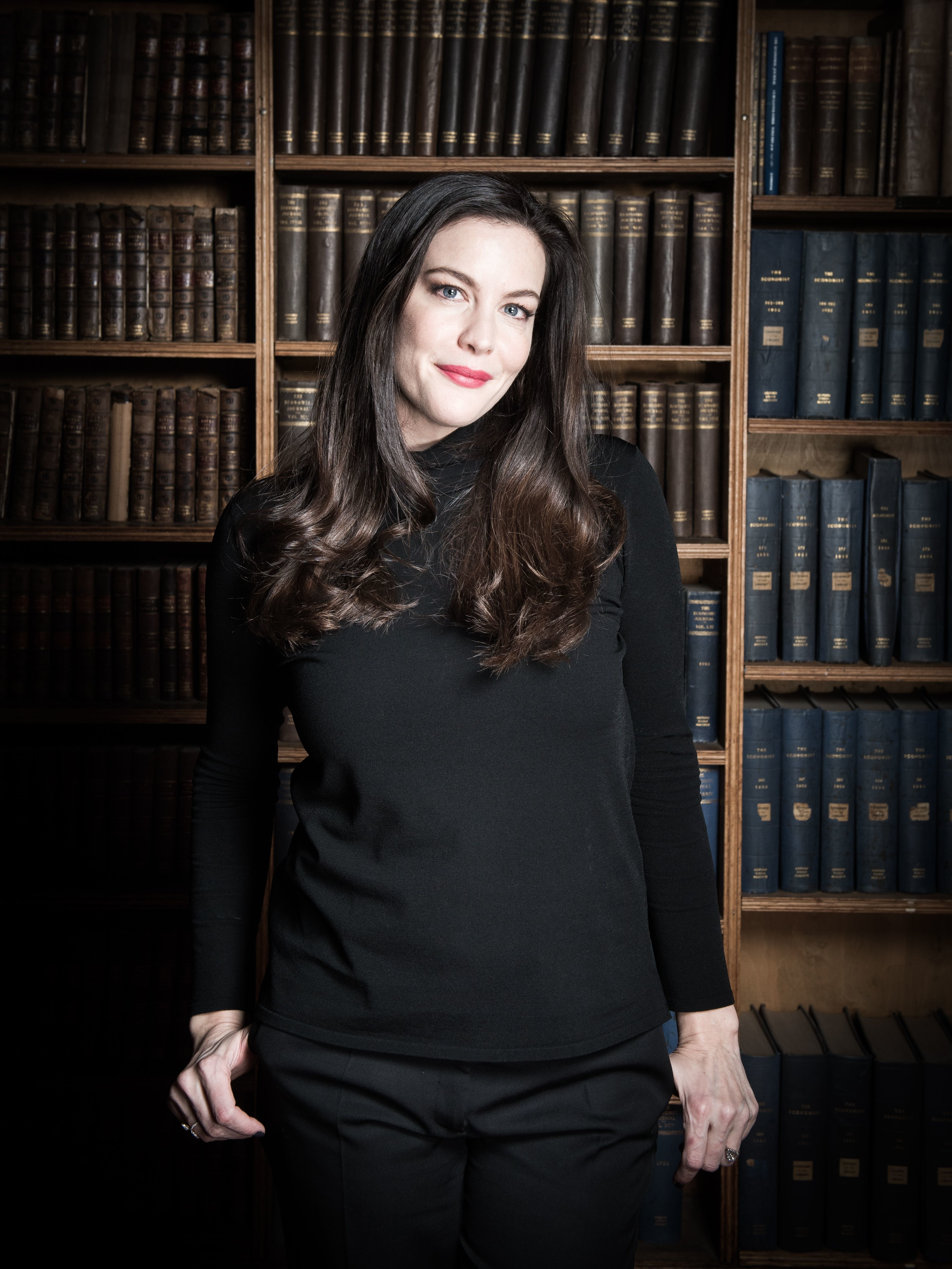 Liv Tyler appears at the Oxford Union in the UK on Nov. 29, 2017.