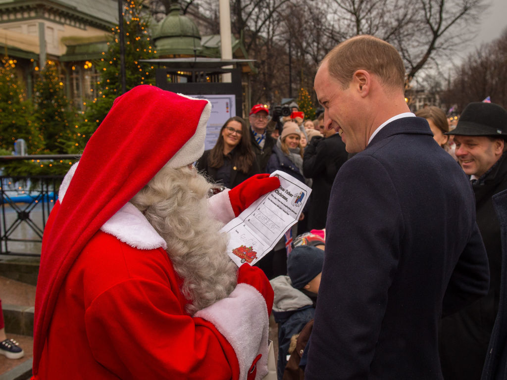 Prince George only wants one thing for Christmas