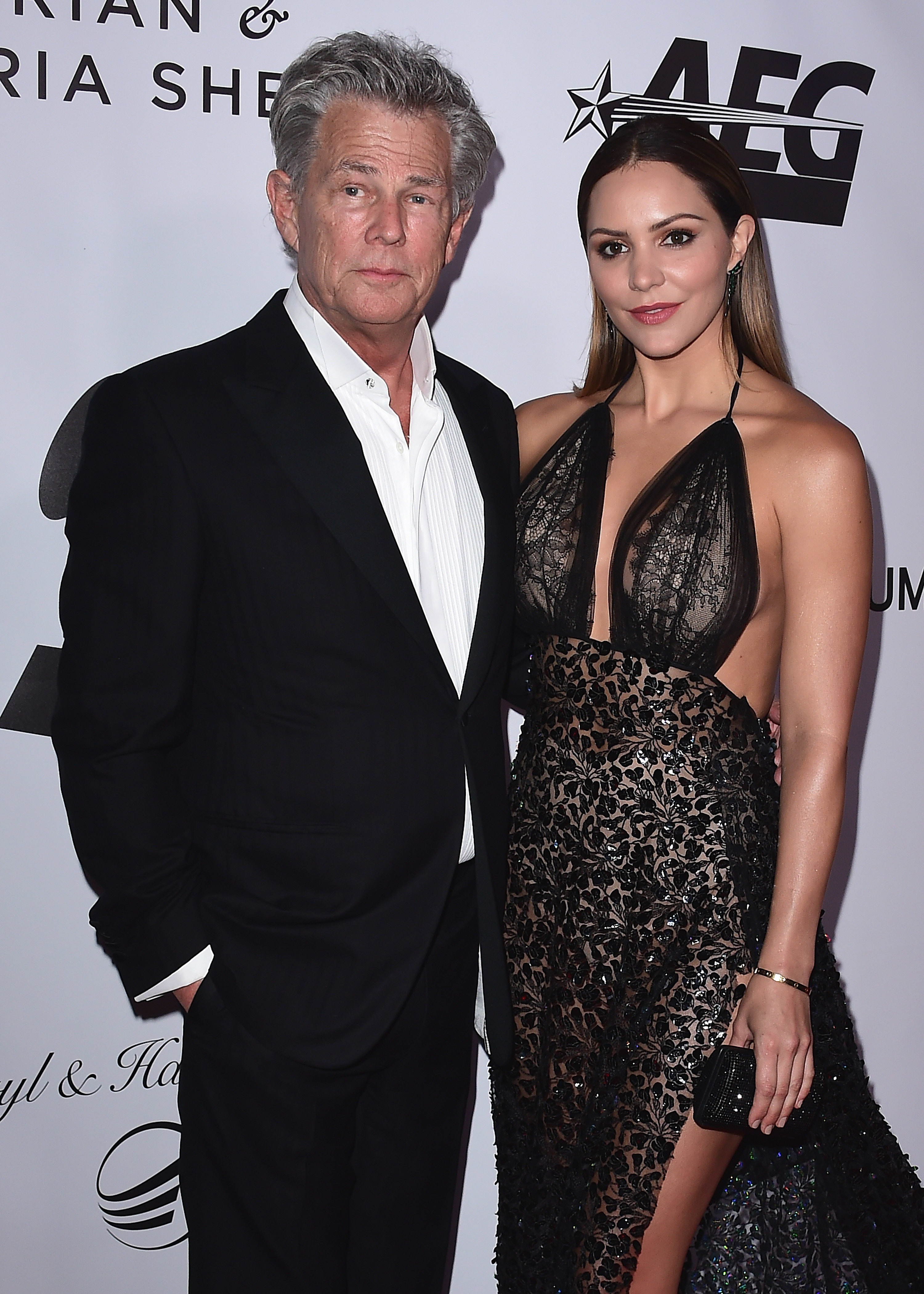 Is David Foster 'insisting on a pre nup' with Katharine McPhee?