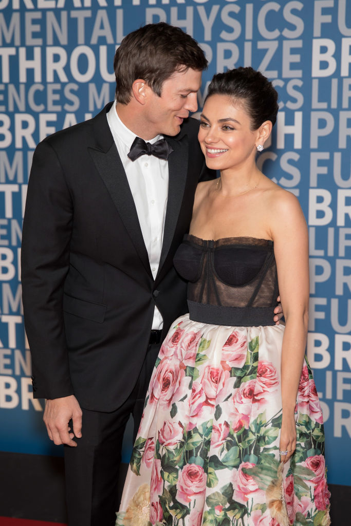 Ashton Kutcher and Mila Kunis make their first joint red carpet appearance since 'That '70s Show'