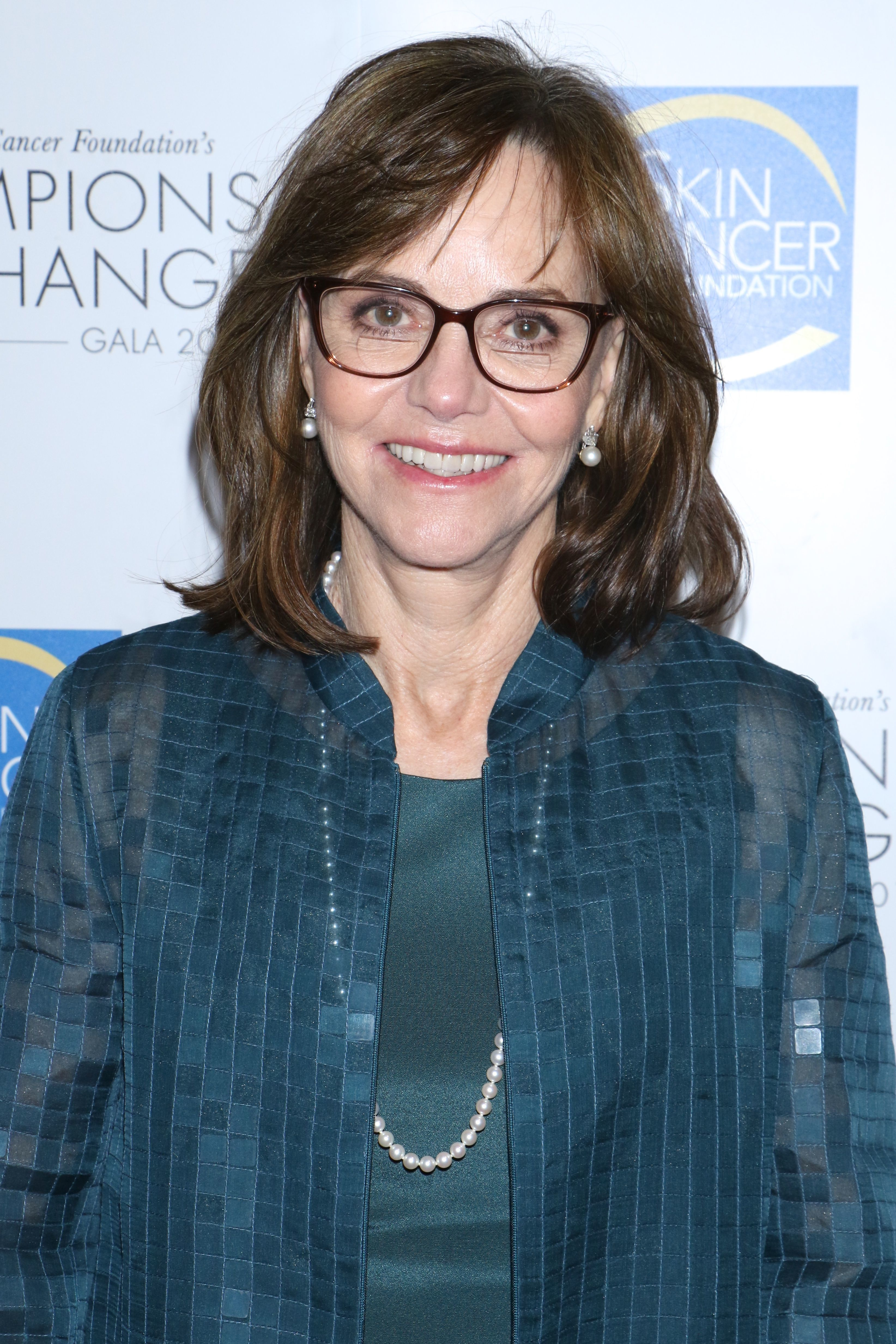 """Sally Field attends The Skin Cancer Foundation's """"Champions for Change"""" gala in New York City on Oct. 17, 2017."""