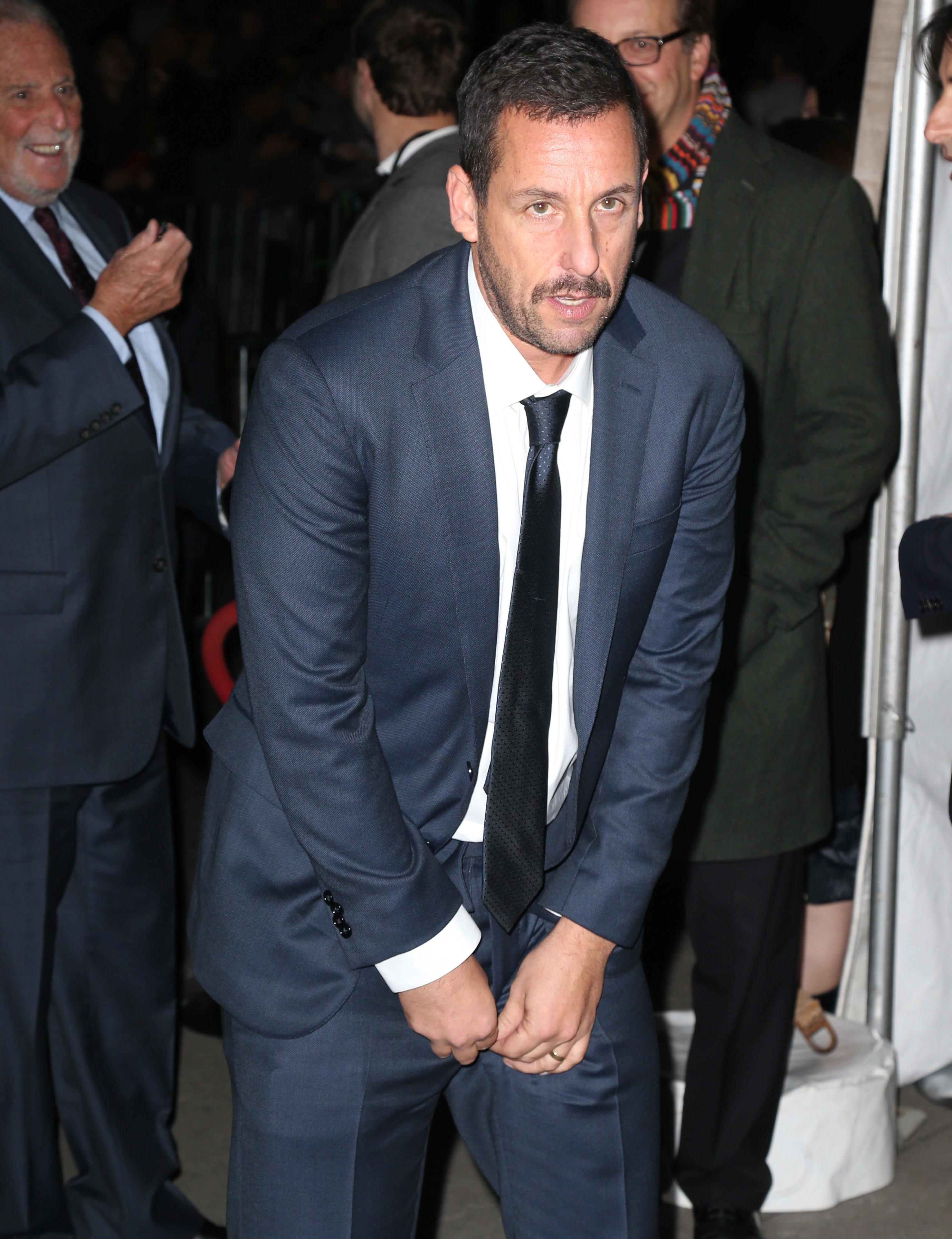 Adam Sandler arrives at the 27th Annual IFP Gotham Awards in New York City on Nov. 27, 2017.