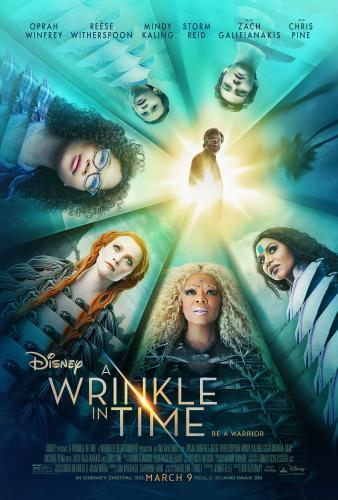 "Oprah Winfrey, Reese Witherspoon, Mindy Kaling, Storm Reid, Zach Galifianakis and Chris Pine star in ""A Wrinkle in Time"" in 2018."