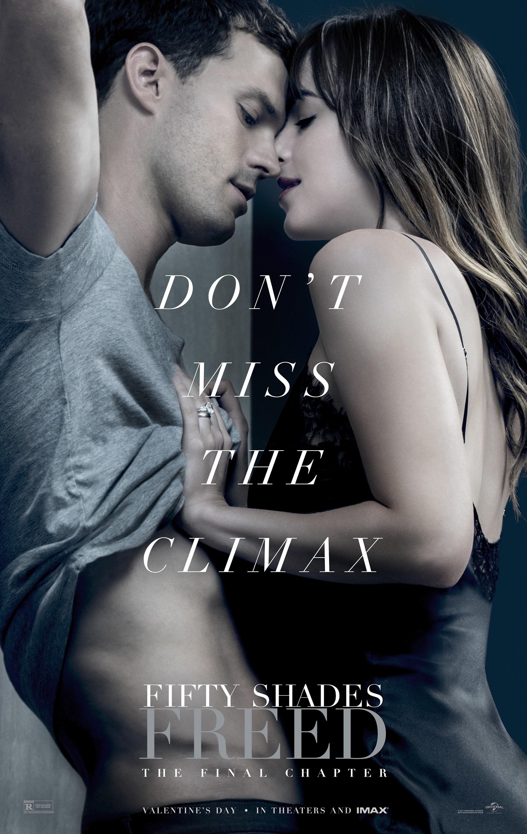 "Jamie Dornan and Dakota Johnson star in ""Fifty Shades Freed"" in 2018."
