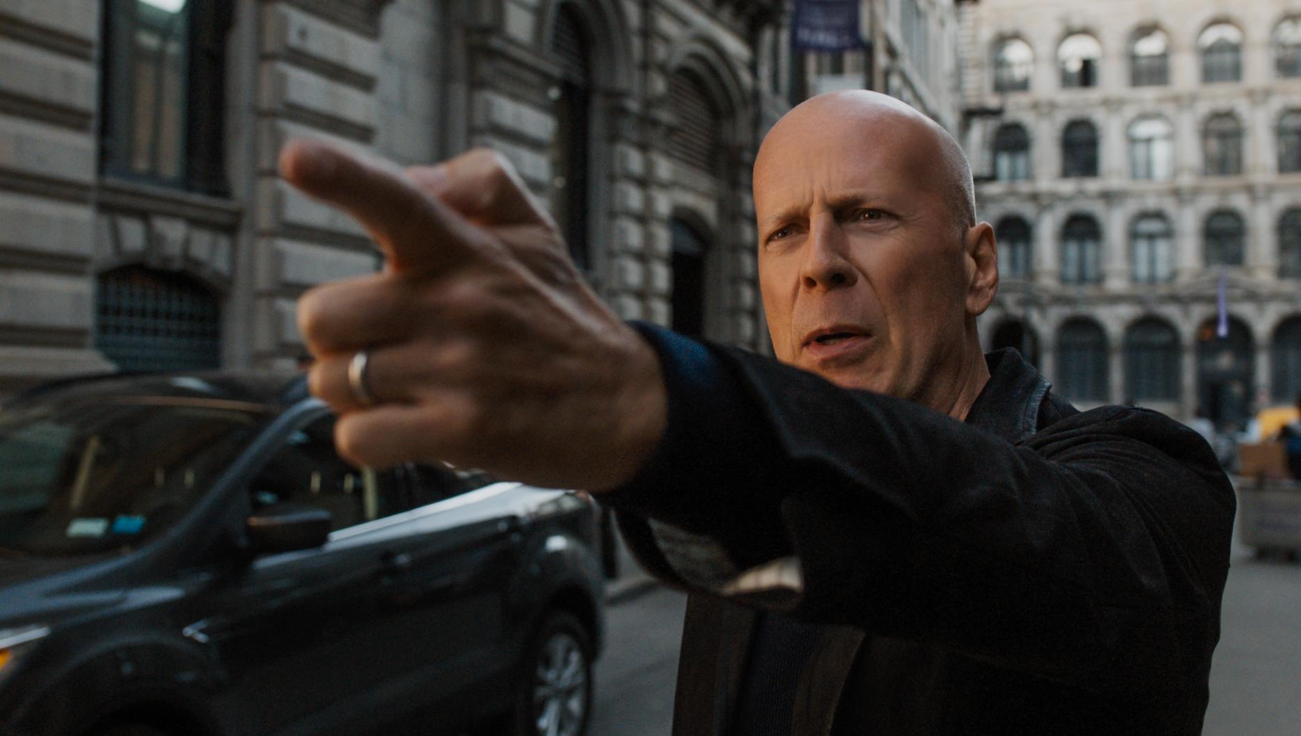 """Bruce Willis stars as Paul Kersey in """"Death Wish"""" in 2018."""