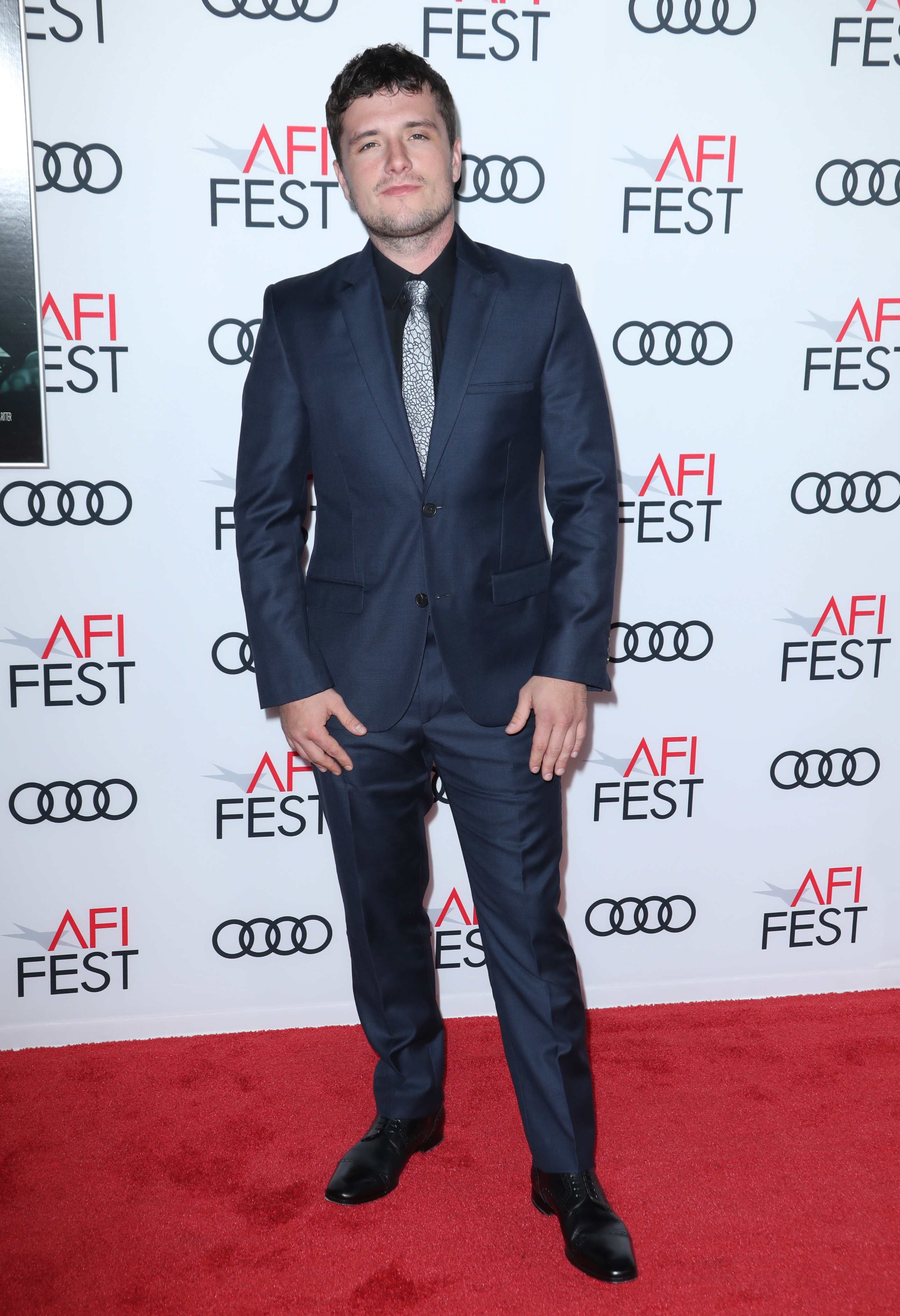 "Josh Hutcherson arrives at ""The Disaster Artist"" Centerpiece Gala at AFI Fest in Los Angeles on Nov. 12,  2017."