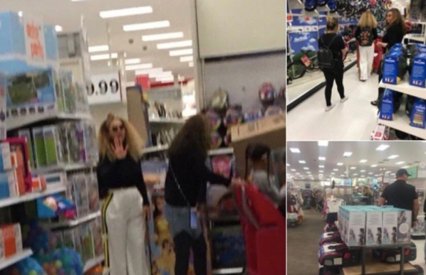 """It's not everyday you see @Beyonce at target 🤩🤪""   Twitter user MsTaylorOlivia, who posted this photo of Beyonce on Dec. 7, 2017."