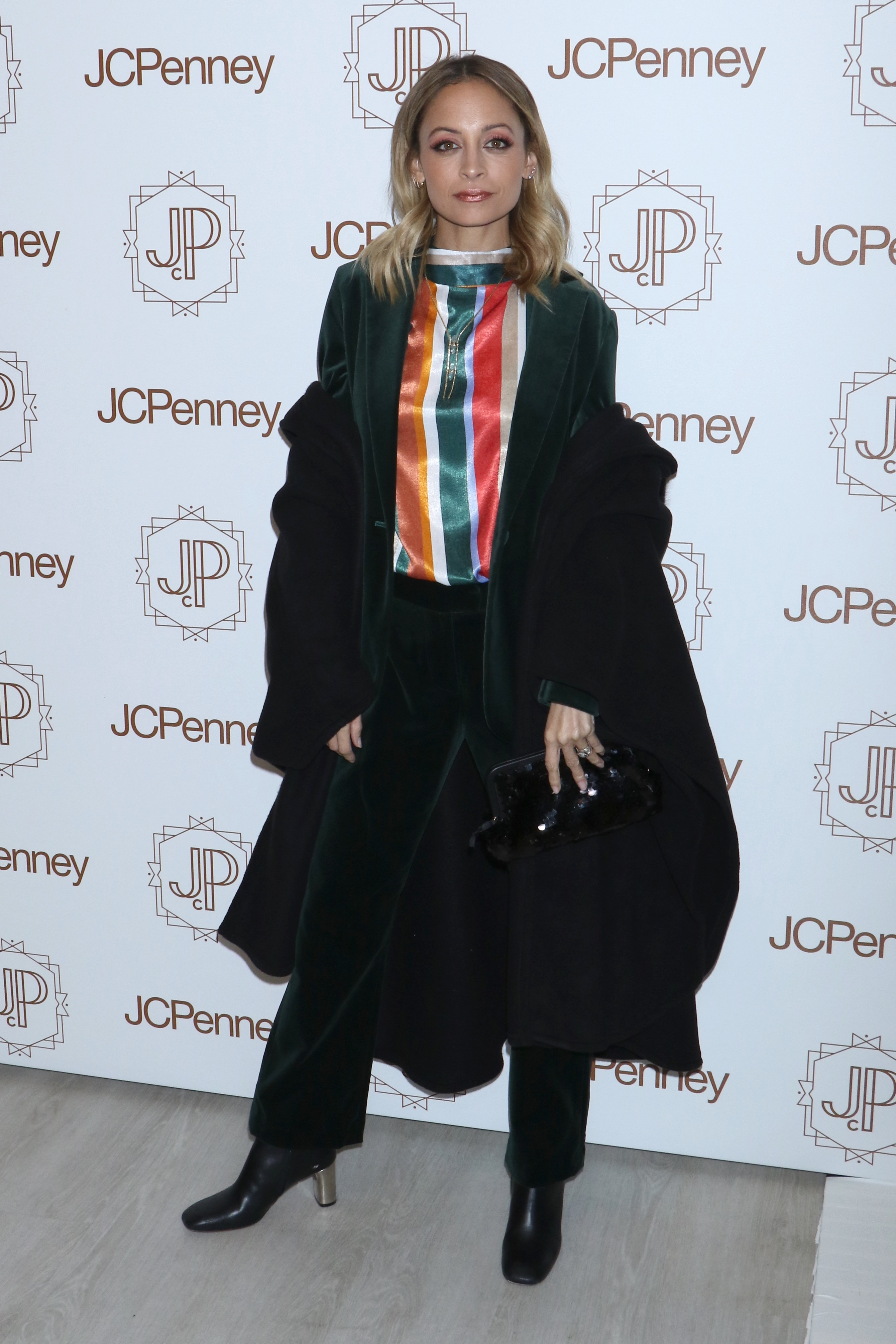 Nicole Richie attends the Jacques Penne a JCPenney Holiday Boutique Pop Up in New York City on Dec. 7, 2017.