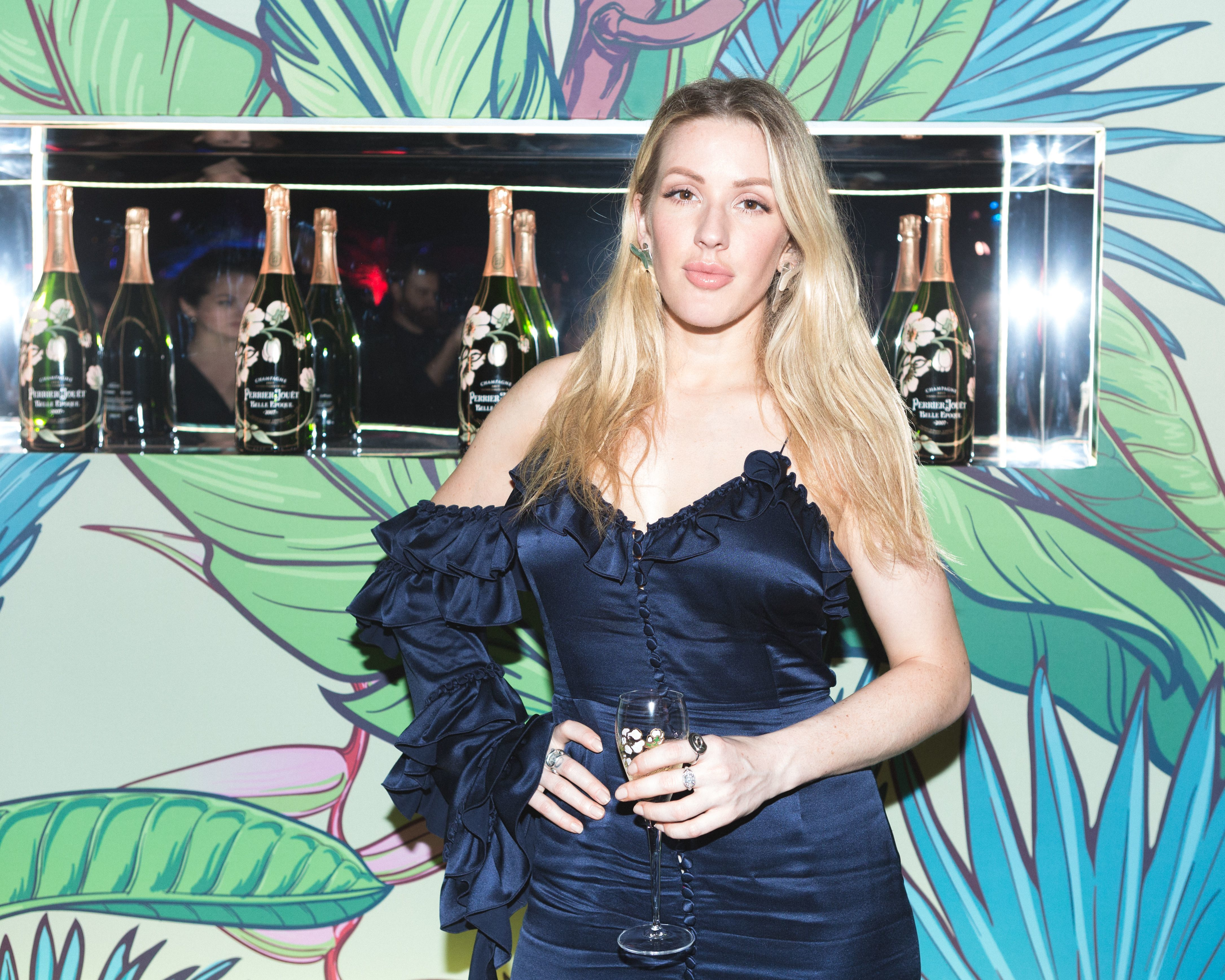 Ellie Goulding attends The Ball of Eden in Miami Beach on Dec. 7, 2017.