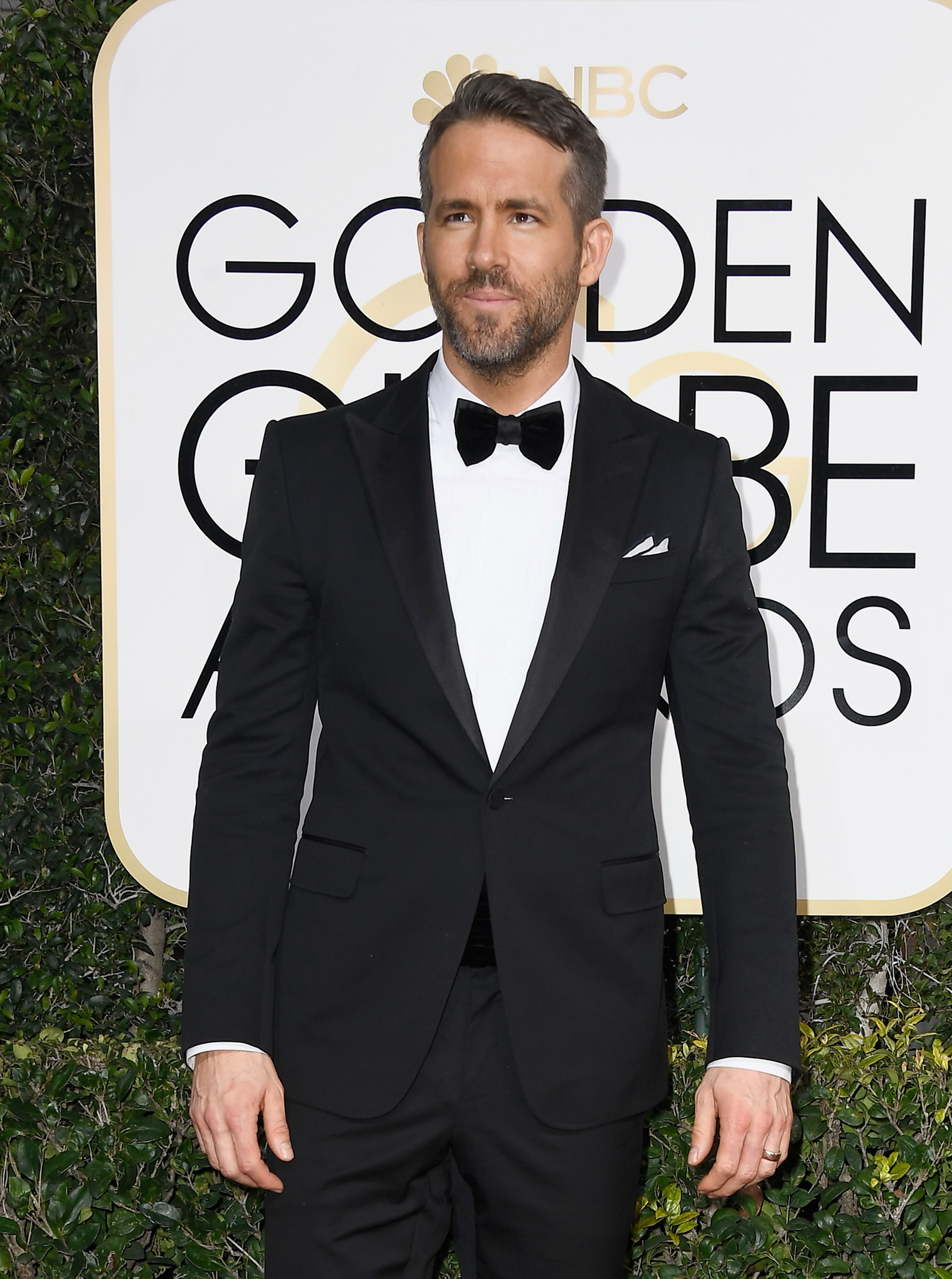 Actor Ryan Reynolds attends the 74th Annual Golden Globe Awards at The Beverly Hilton Hotel in Beverly Hills, California  on January 8, 2017.