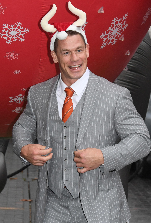 John Cena attends the 'Ferdinand' special screening in London on Dec. 3, 2017.