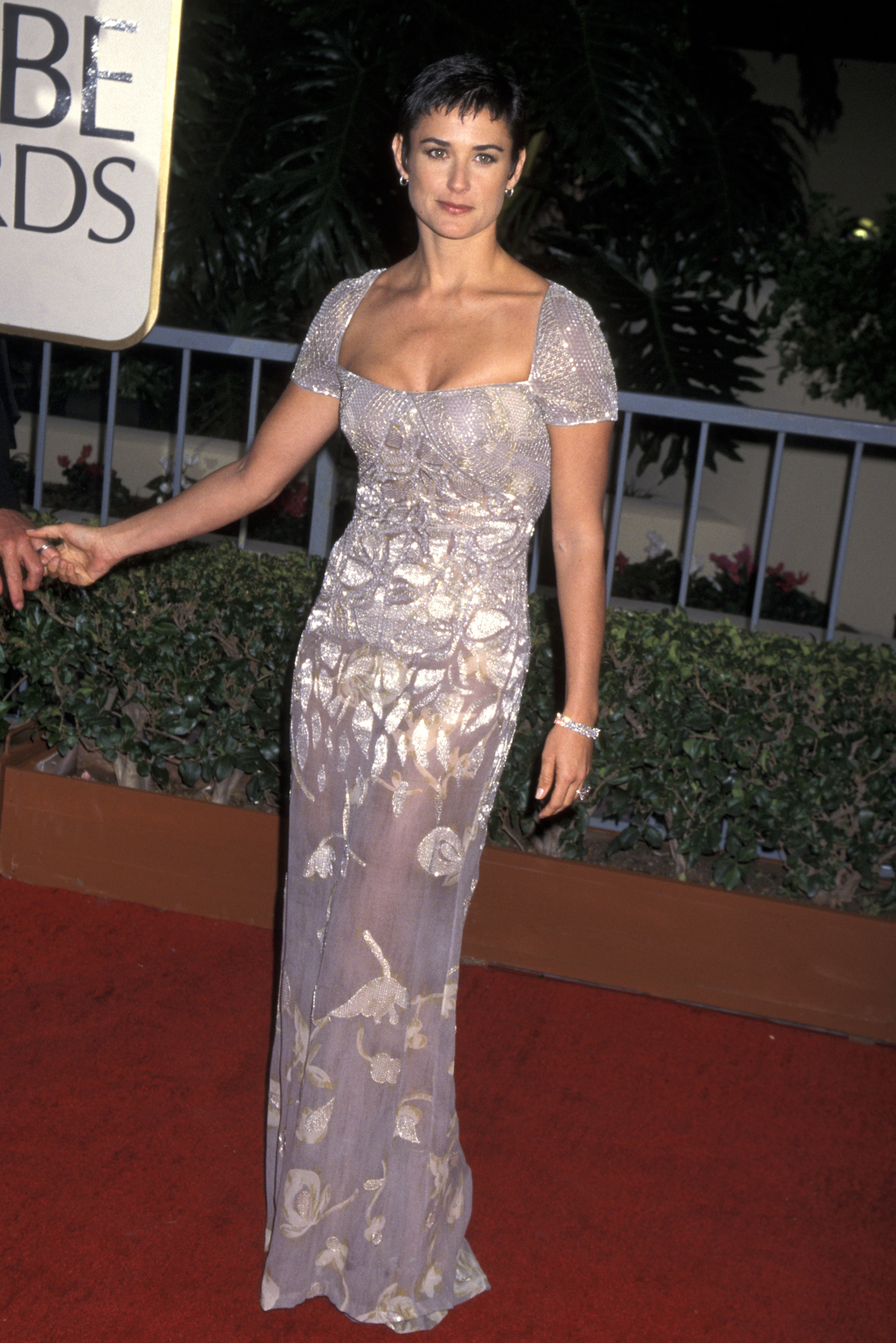 Demi Moore attends the 52nd Annual Golden Globe Awards in Los Angeles, Calif., on Jan. 21, 1995.