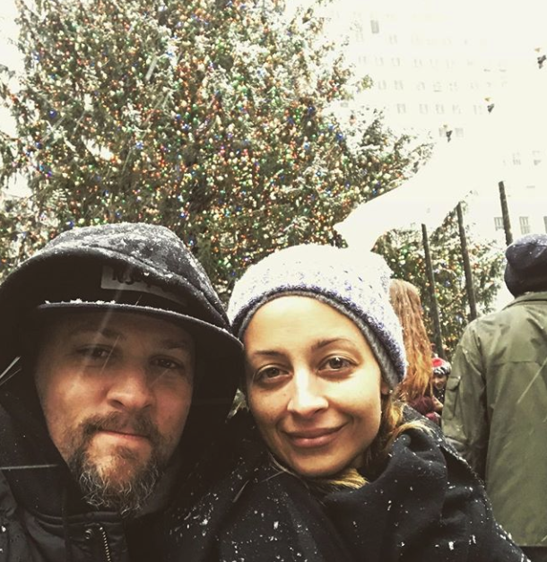 """All I want for Christmas is you 🎄""   Joel Madden, who posted this photo with his wife Nicole Richie on Instagram on Dec. 25, 2017."