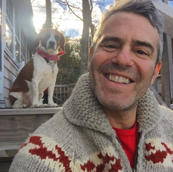 """Merry Christmas, everybody! 🎅🏽 🌲""   Andy Cohen, who posted this photo on Instagram on Dec. 25, 2017."