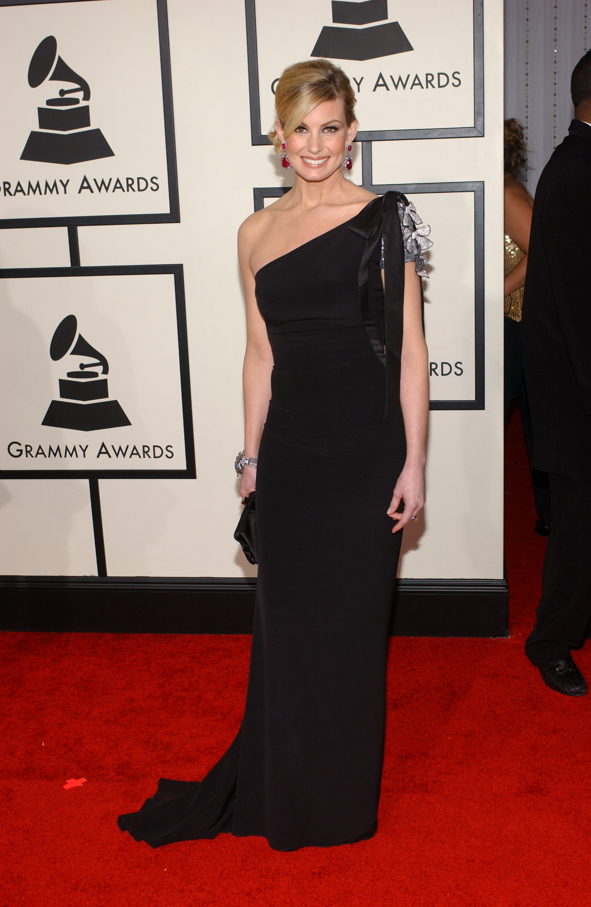 Faith Hill attends the 50th Annual Grammy Awards at Staples Center in Los Angeles on Feb. 10, 2008.