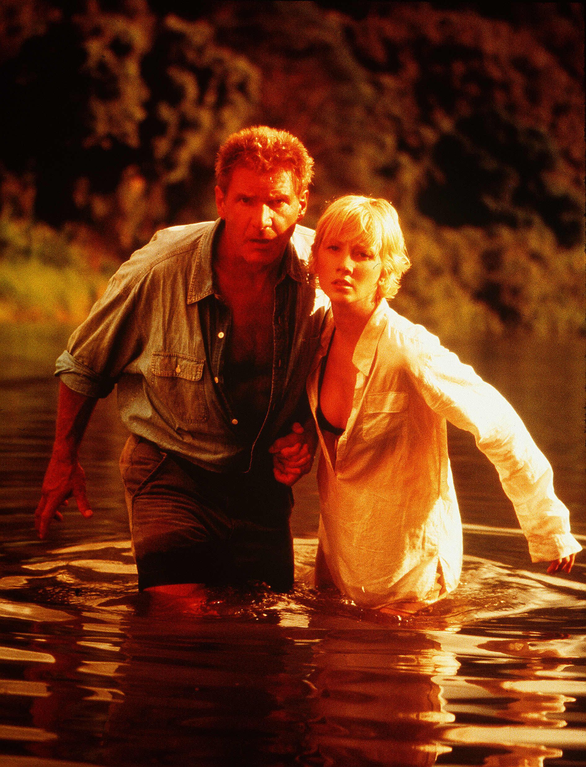 """Harrison Ford and Anne Heche starred in """"Six Days Seven Nights"""" in 1998."""