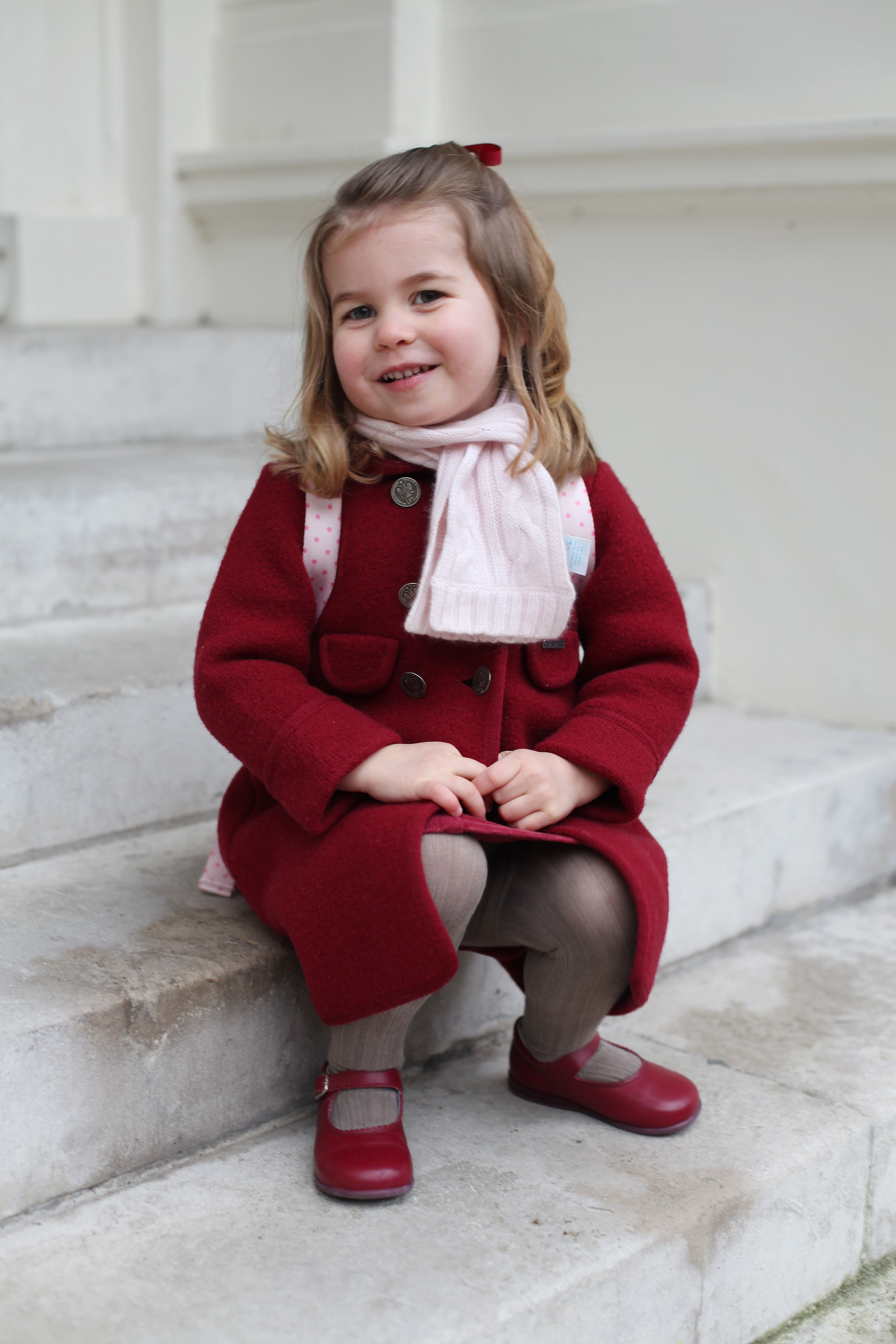 Princess Charlotte is 'looking forward' to becoming a big sister