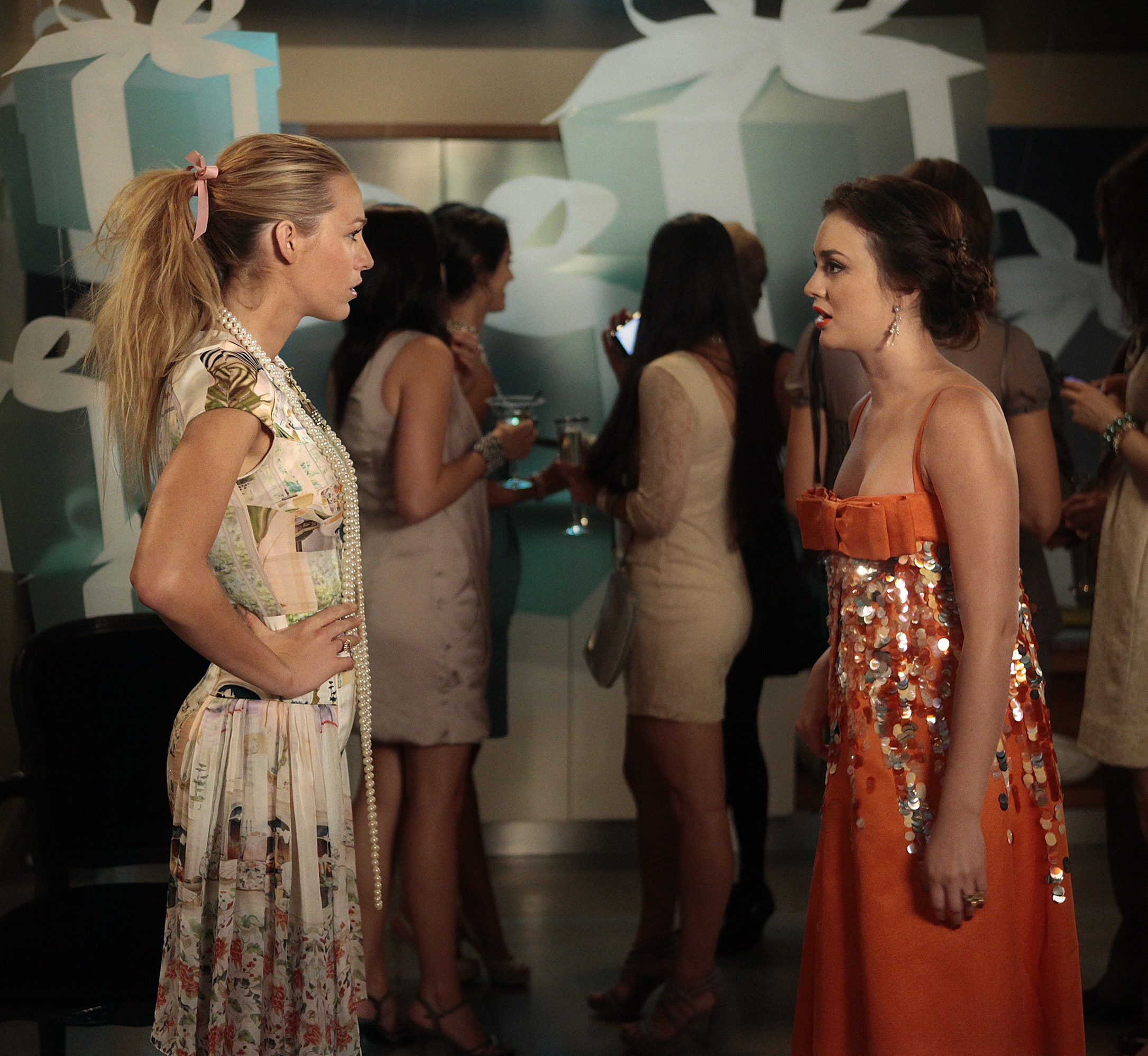 "Blake Lively and Leighton Meester star in ""Gossip Girl"" in 2011."