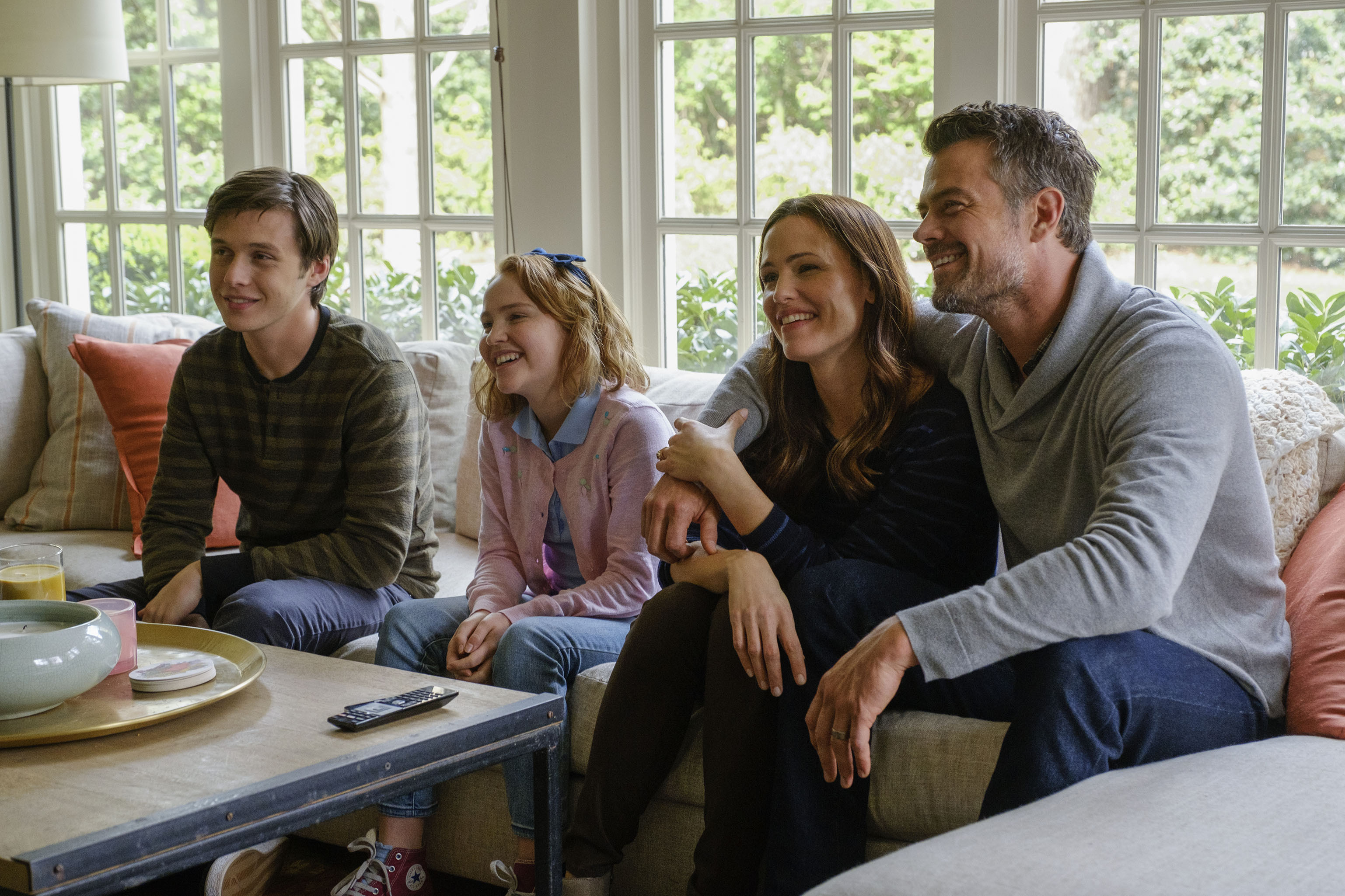 """Nick Robinson, Talitha Bateman, Jennifer Garner and Josh Duhamel star in 2018's """"Love, Simon."""""""