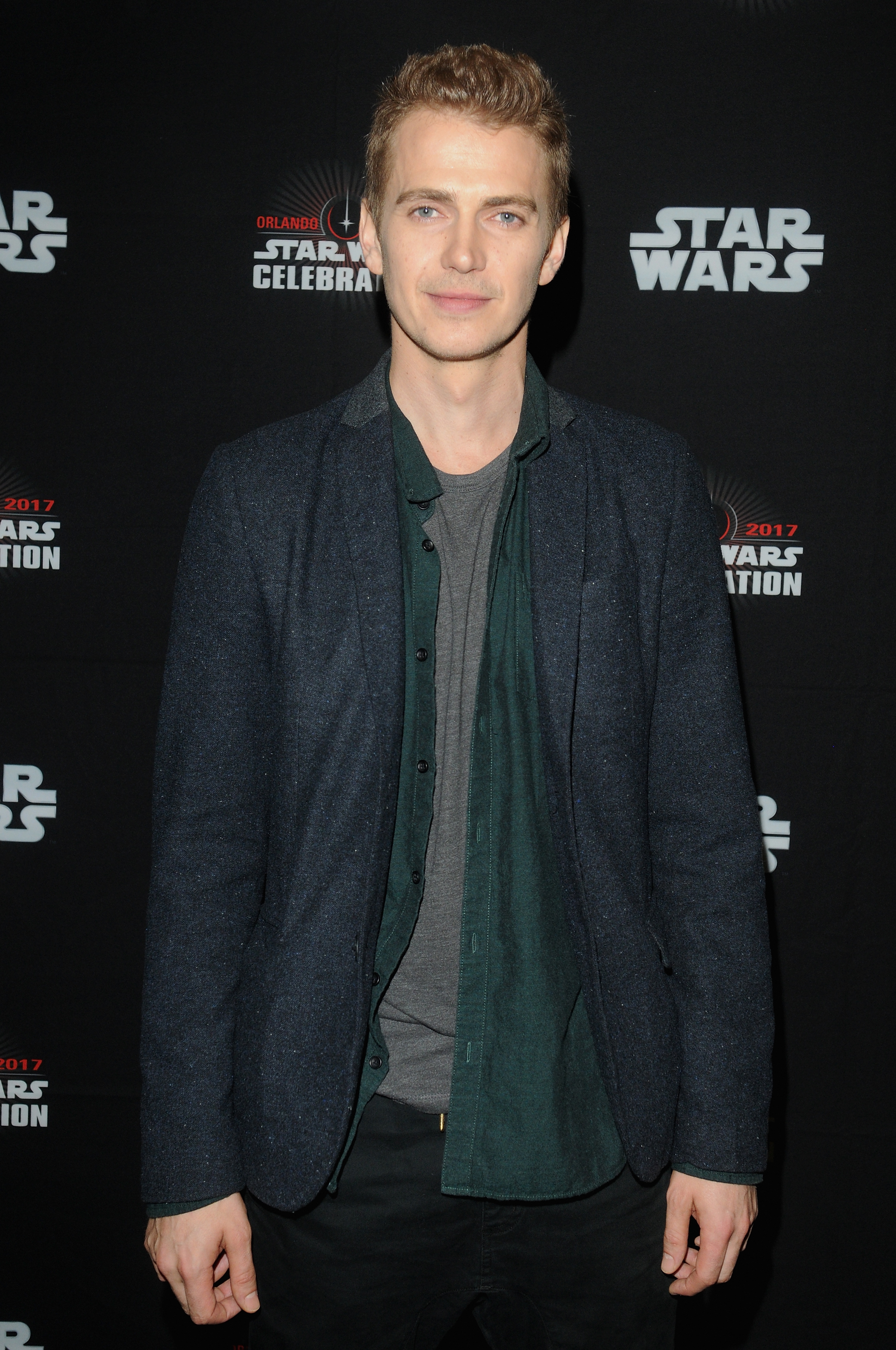 Hayden Christensen attends the 40 Years of Star Wars panel during the 2017 Star Wars Celebration at Orange County Convention Center in Orlando, Florida on April 13, 2017.