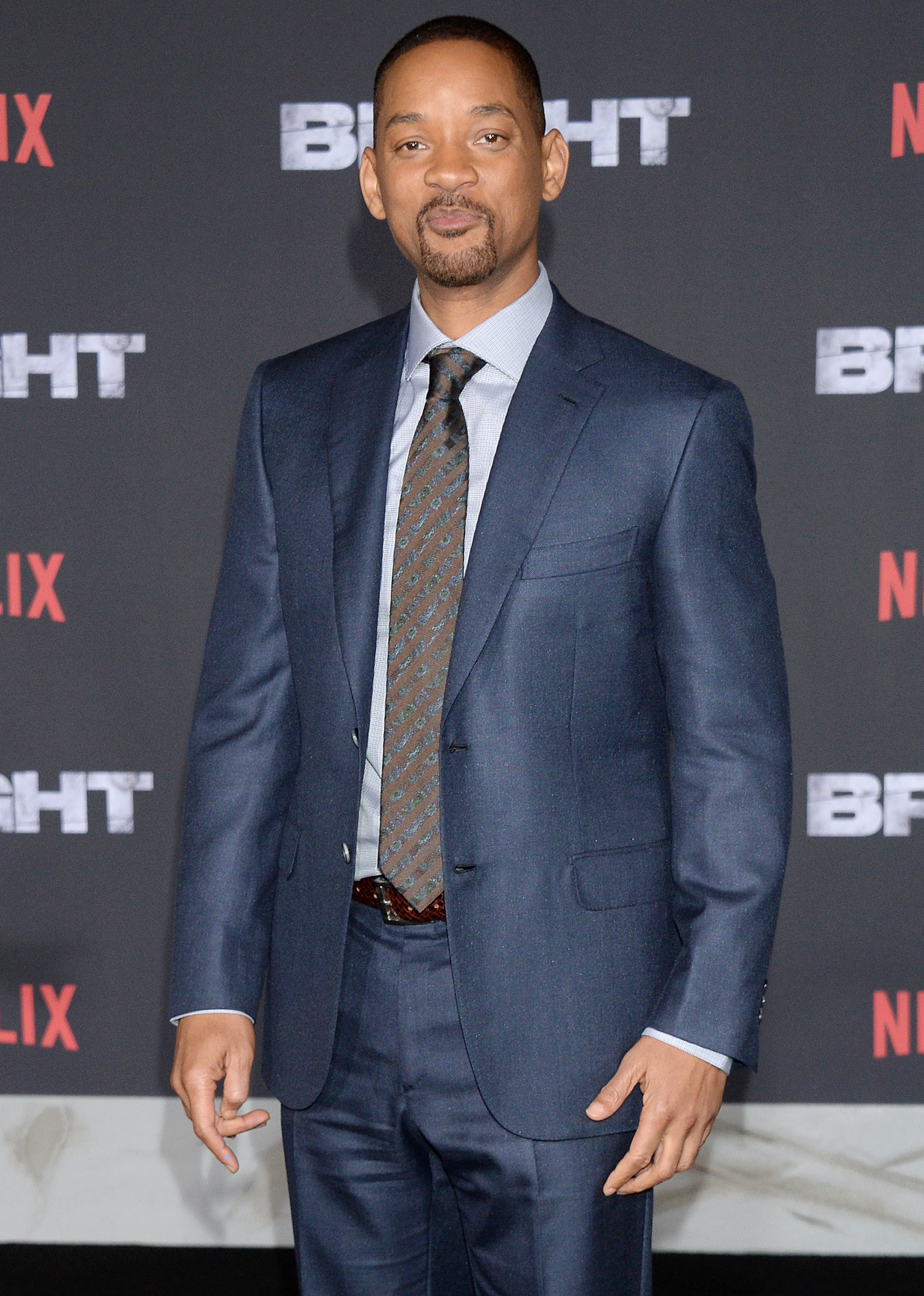 """Will Smith attends the premiere of """"Bright"""" in Los Angeles on Dec. 16, 2017."""