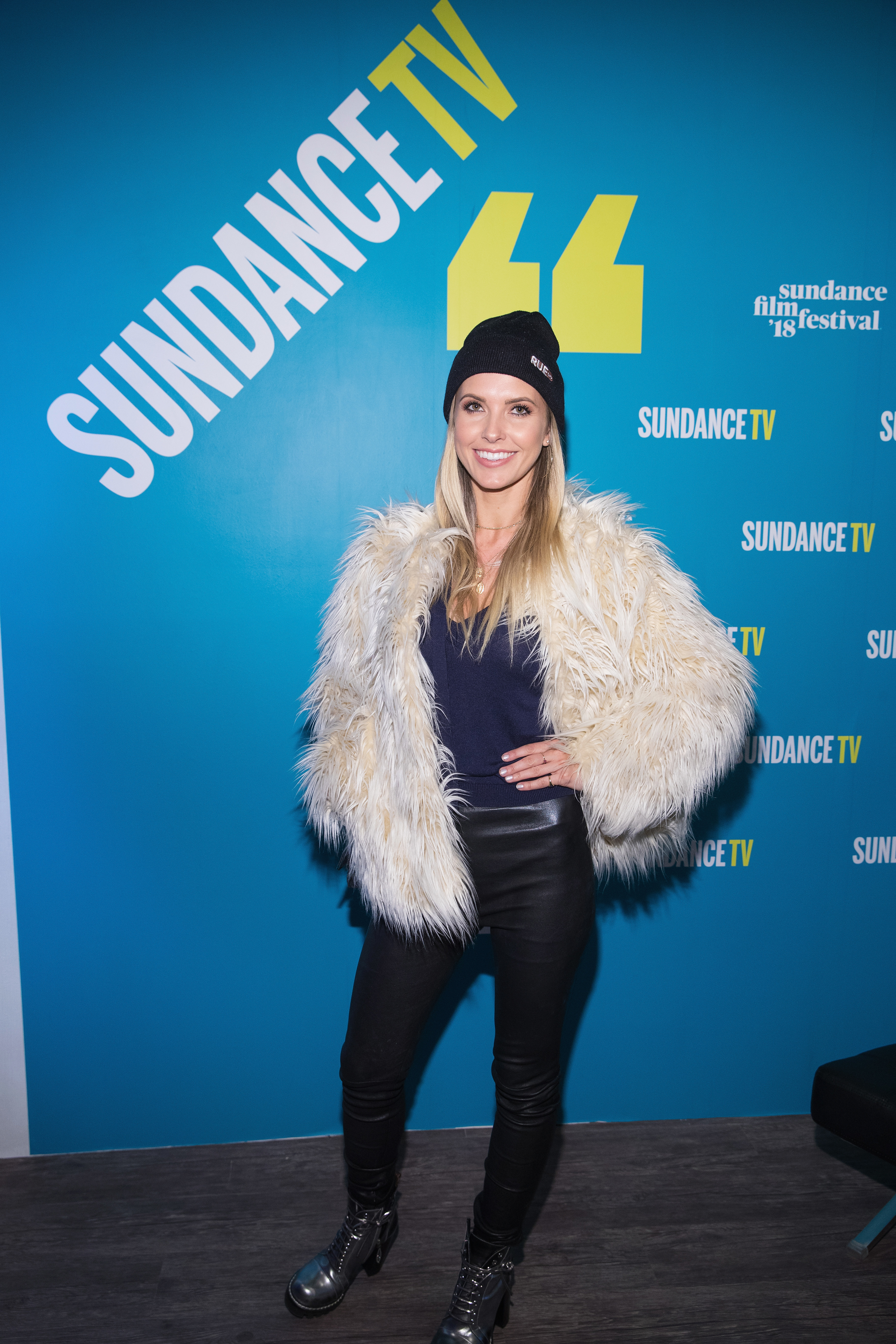 Audrina Patridge attends the 2018 Sundance Film Festival Official Kickoff Party Hosted By SundanceTV at Sundance TV HQ in Park City on Jan. 19, 2018.