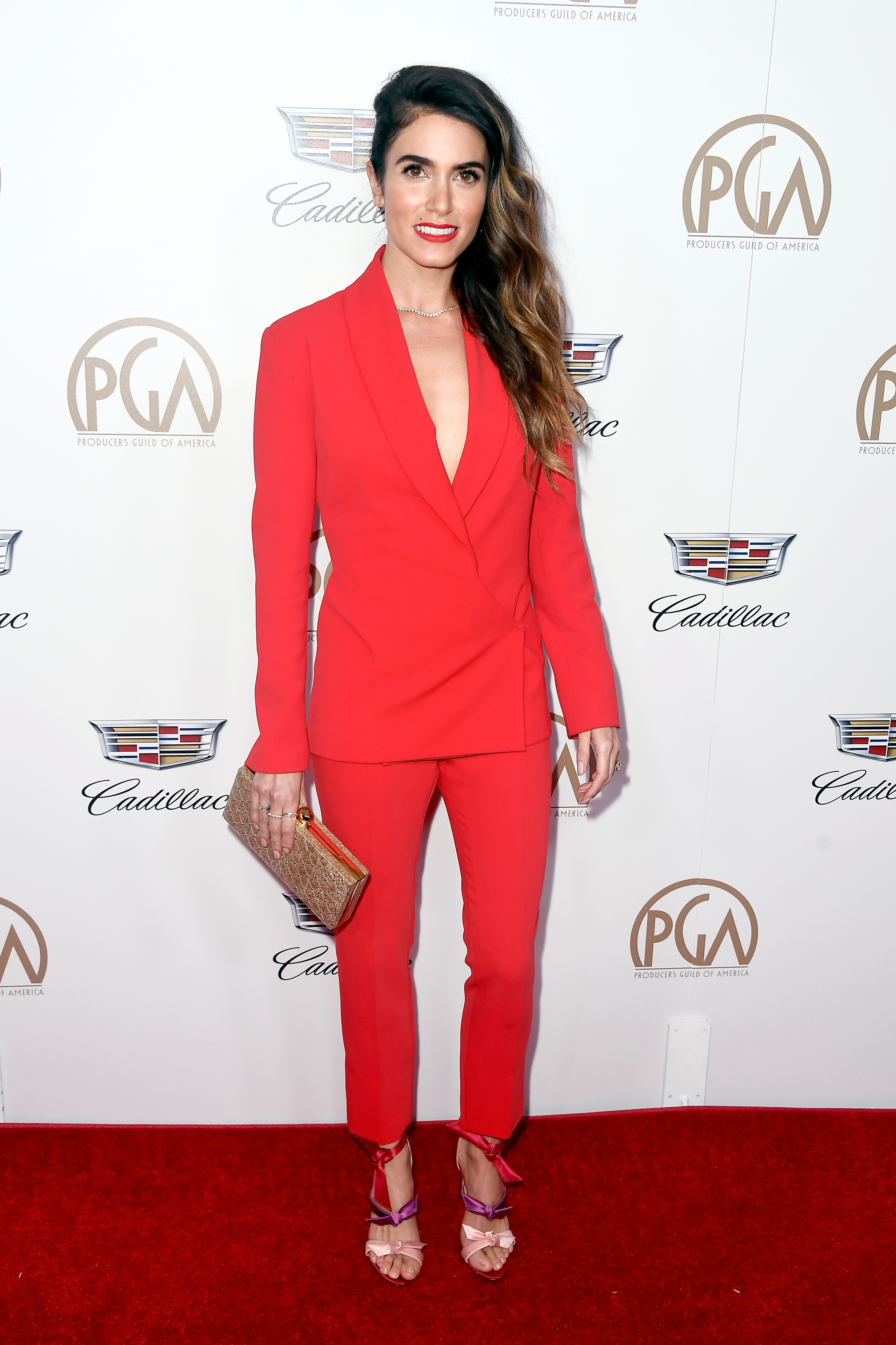 Nikki Reed attends the 29th Annual Producers Guild Awards at The Beverly Hilton Hotel in Beverly Hills, California, on Jan. 20, 2018.
