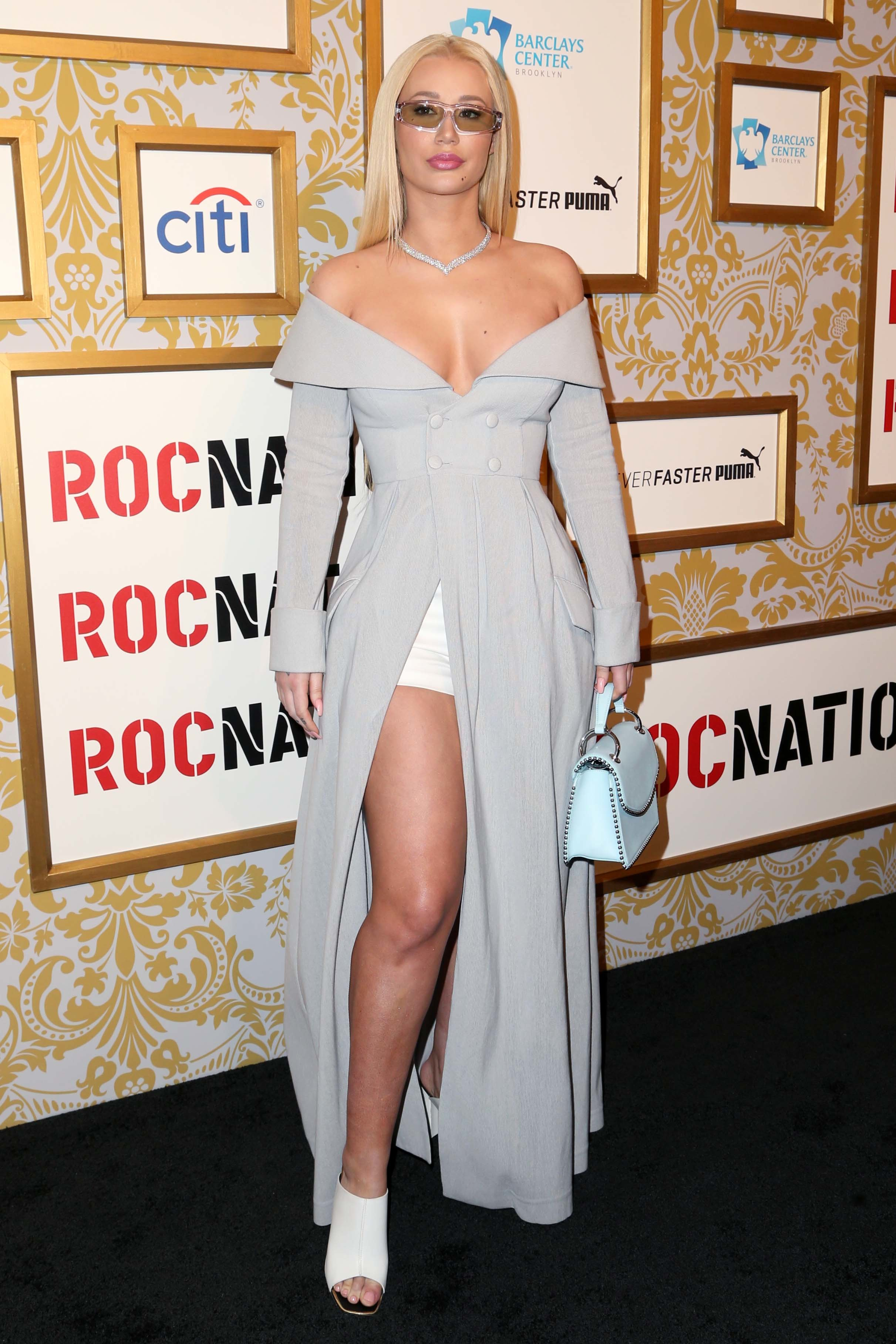 Iggy Azalea attends Roc Nation's annual pre Grammys brunch in New York City on Jan. 27, 2018.