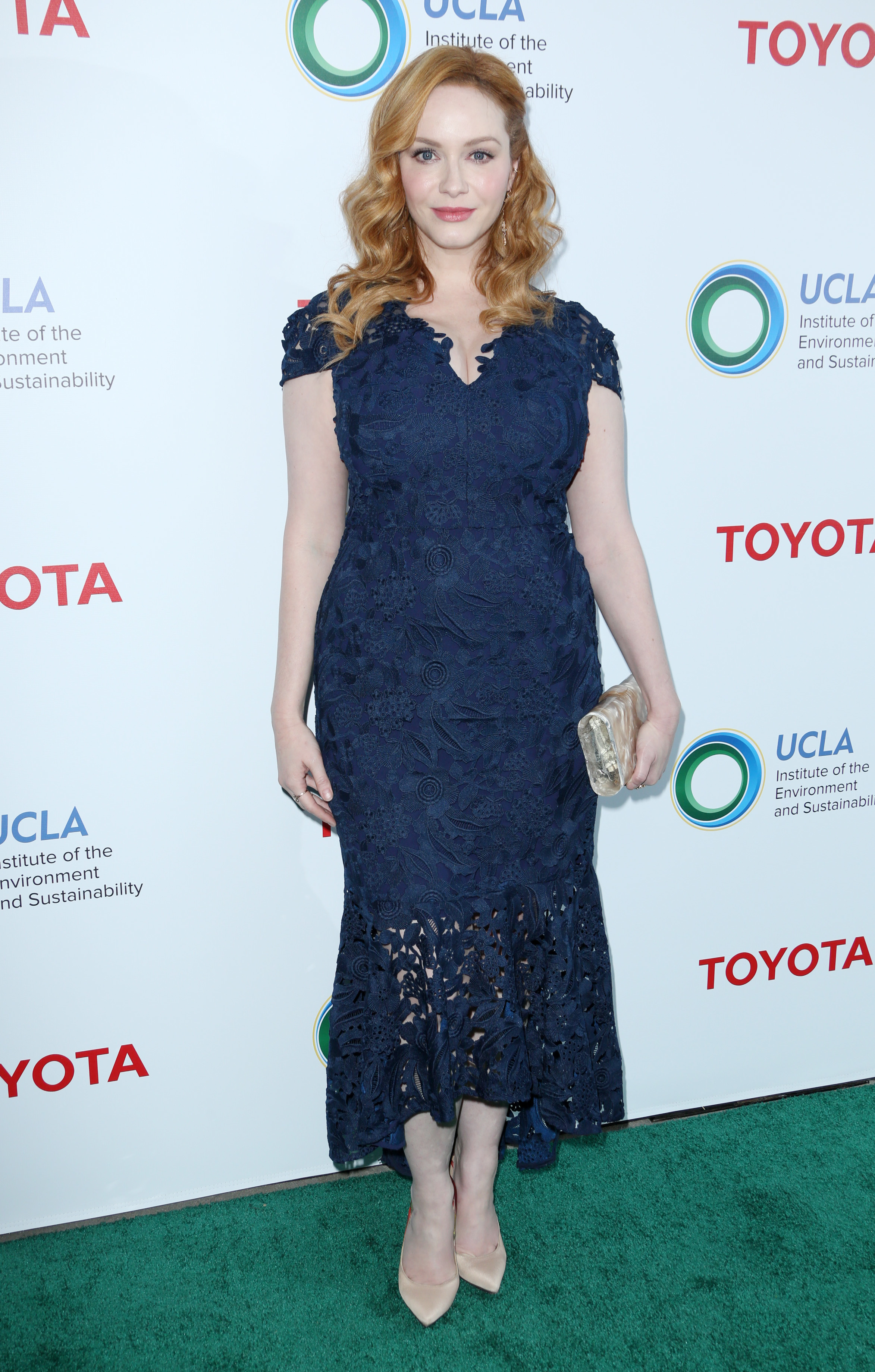 Christina Hendricks attends the UCLA Institute of the Environment and Sustainability Gala in Los Angeles on March 13, 2017.