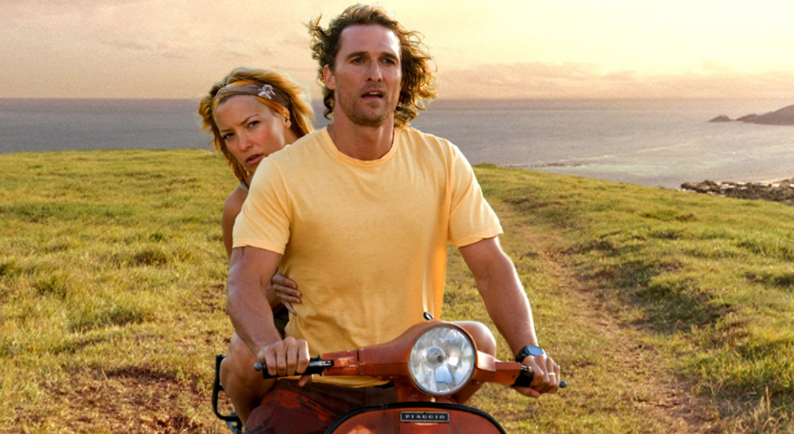 "Kate Hudson and Matthew McConaughey in ""Fool's Gold"" in 2008."