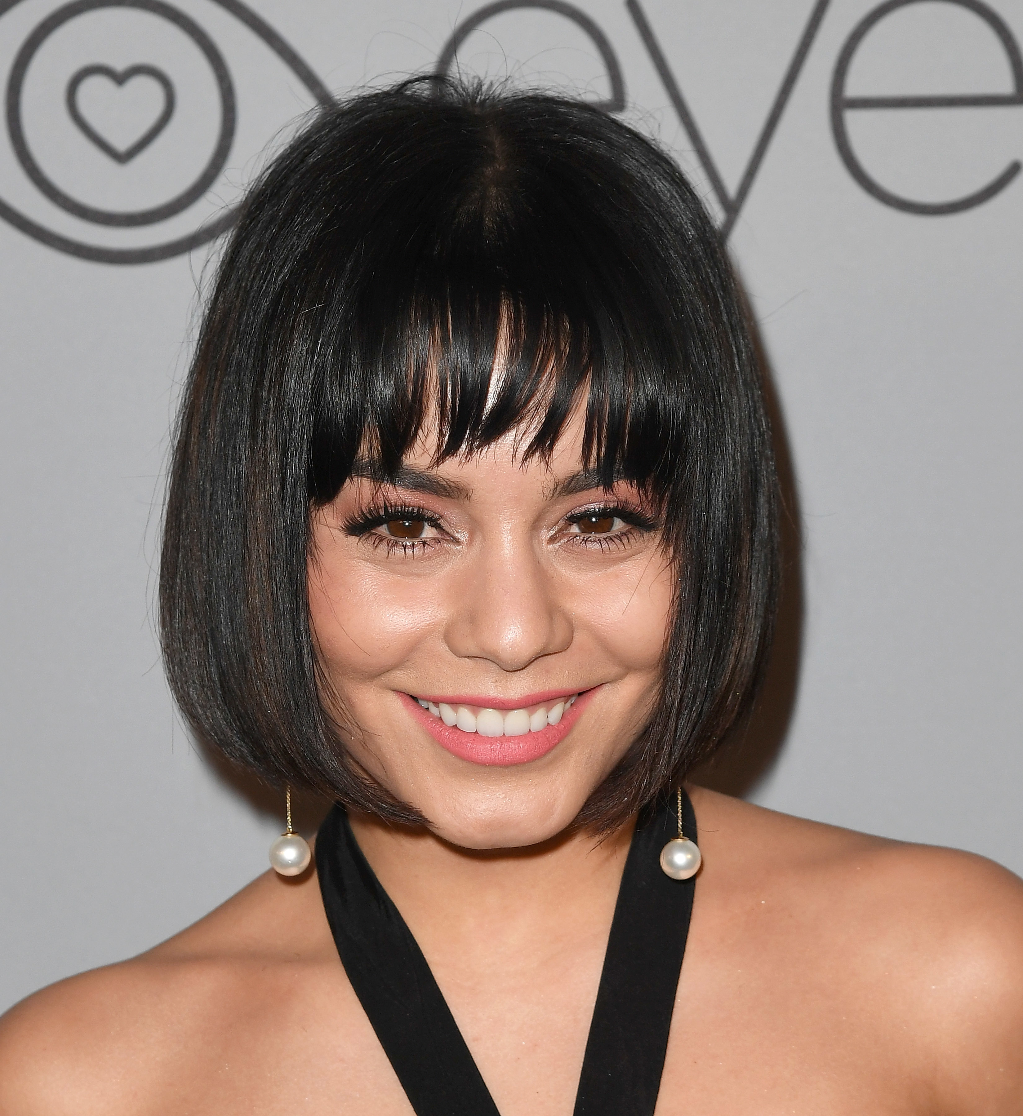 Vanessa Hudgens arrives at the InStyle and Warner Bros Golden Globes After Party in Los Angeles on Jan. 7, 2018.