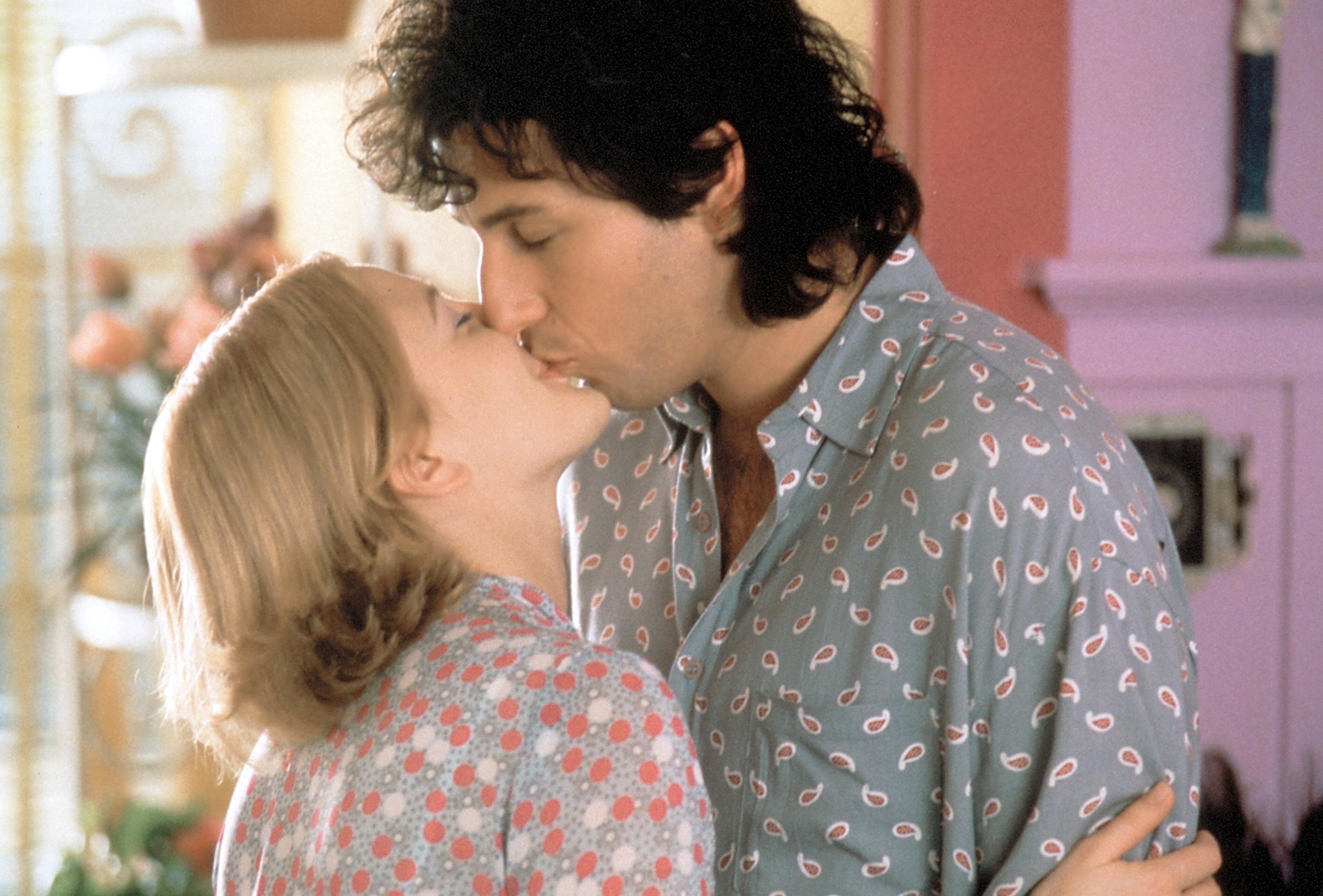 "Drew Barrymore and Adam Sandler in ""The Wedding Singer"" in 1998."